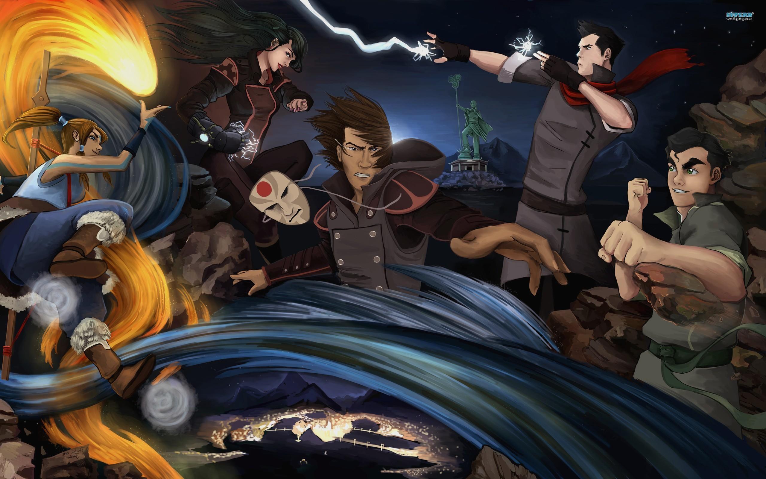 Avatar The Legend Of Korra desktop wallpaper