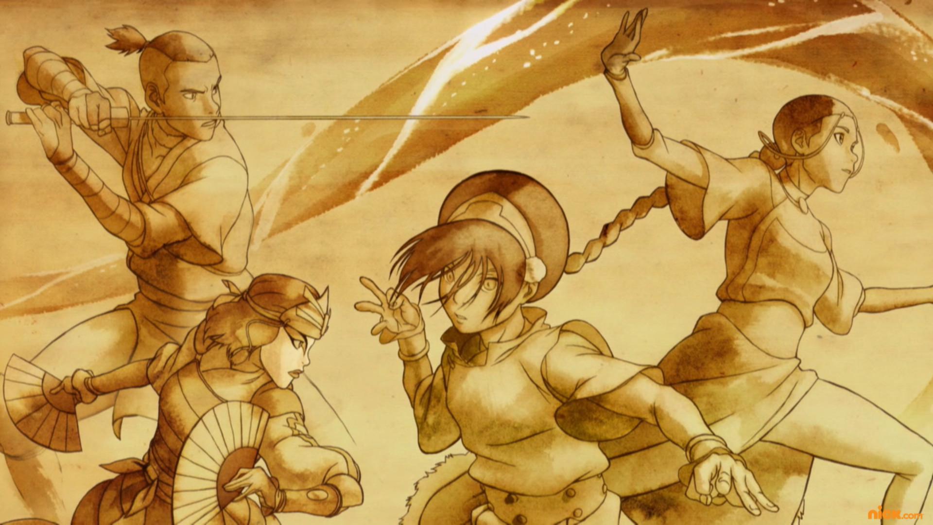Anime – Avatar: The Legend Of Korra Bakgrund