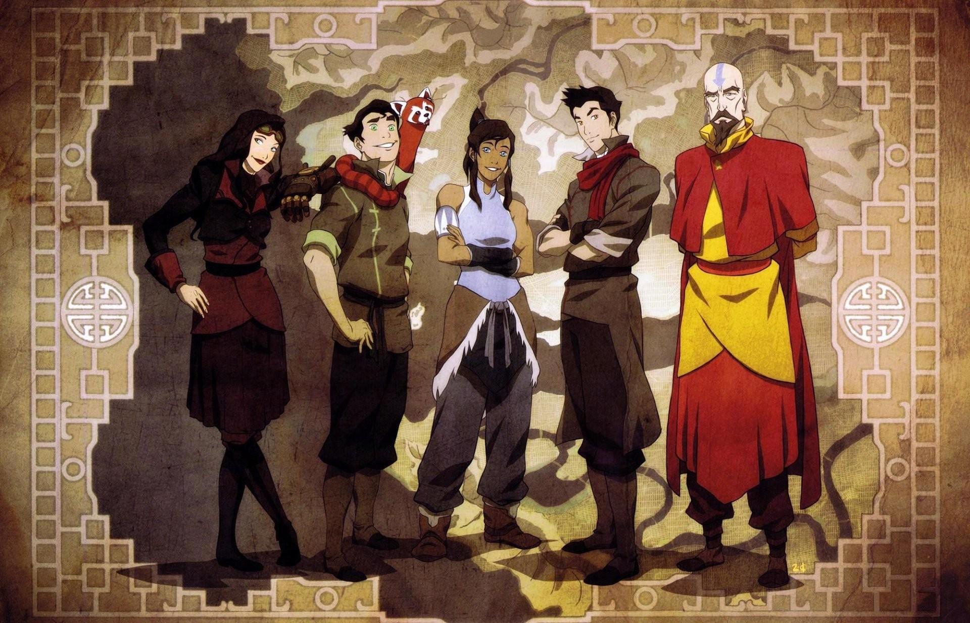 the legend of korra avatar: the legend of korra korra avatar avatar asami  sato bolin