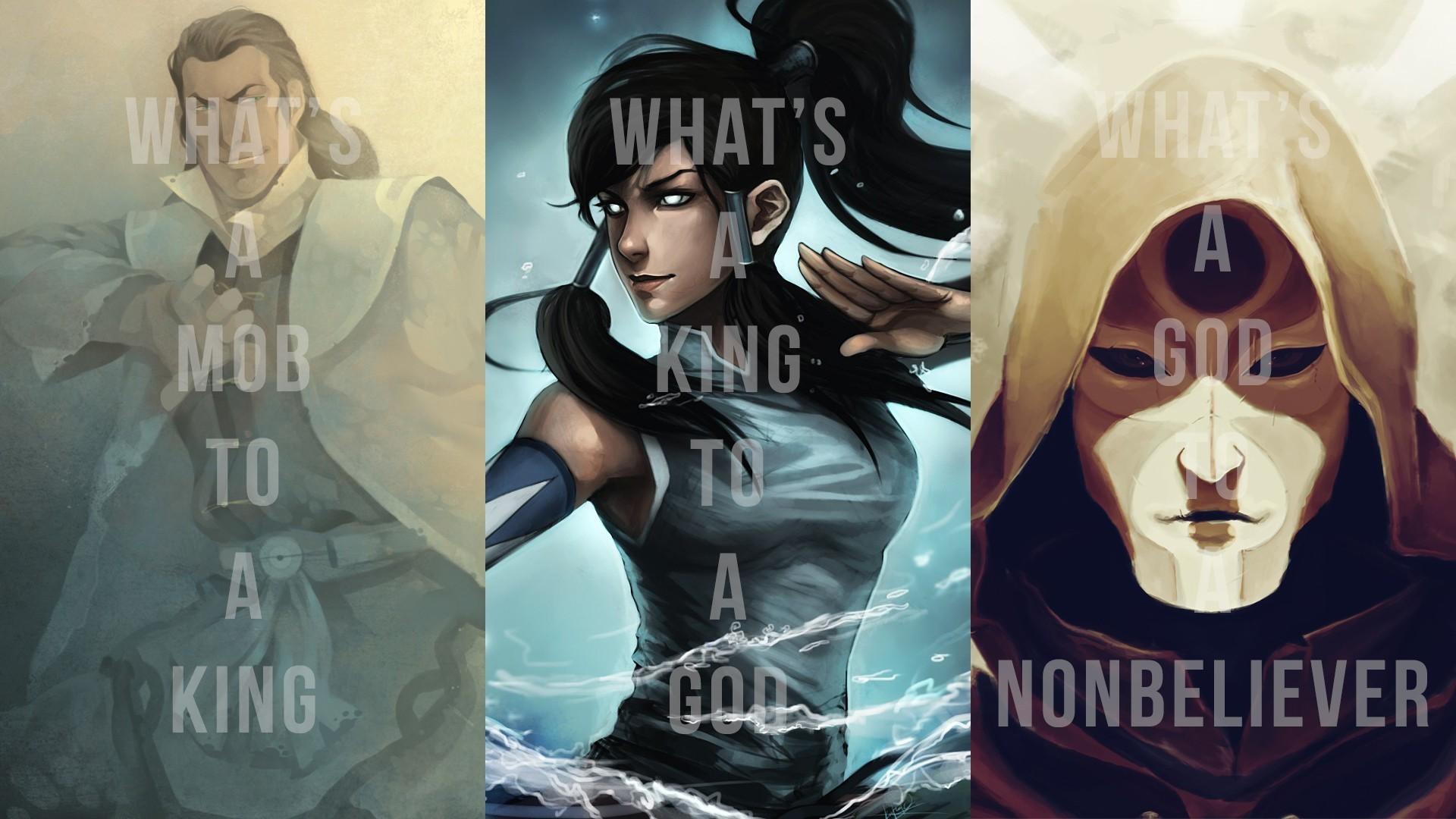 Korra, The Legend Of Korra, Avatar, Amon, Tarrlok Wallpapers HD / Desktop  and Mobile Backgrounds