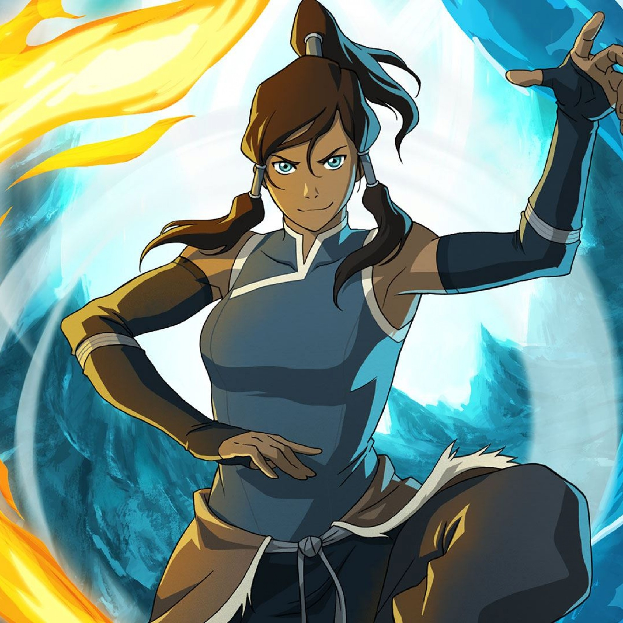 Preview wallpaper the legend of korra, avatar legend of the corre, girl,  magician