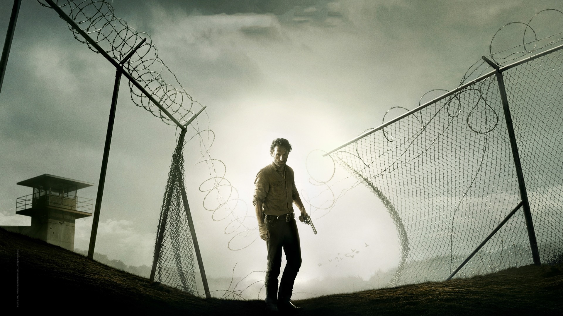 Wallpaper andrew lincoln, sheriff, rick grimes, the walking dead