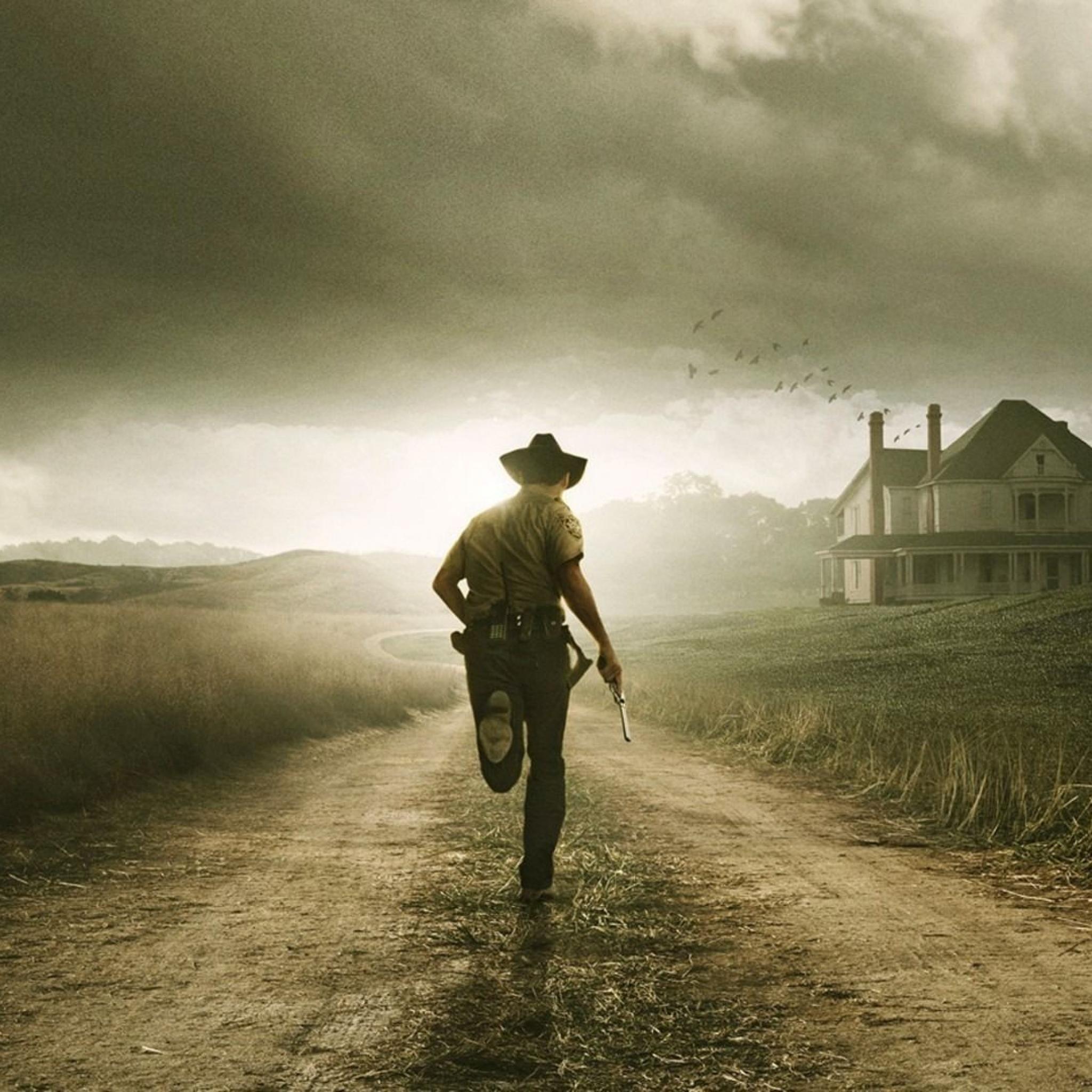 Download The Walking Dead iPad Wallpaper HD