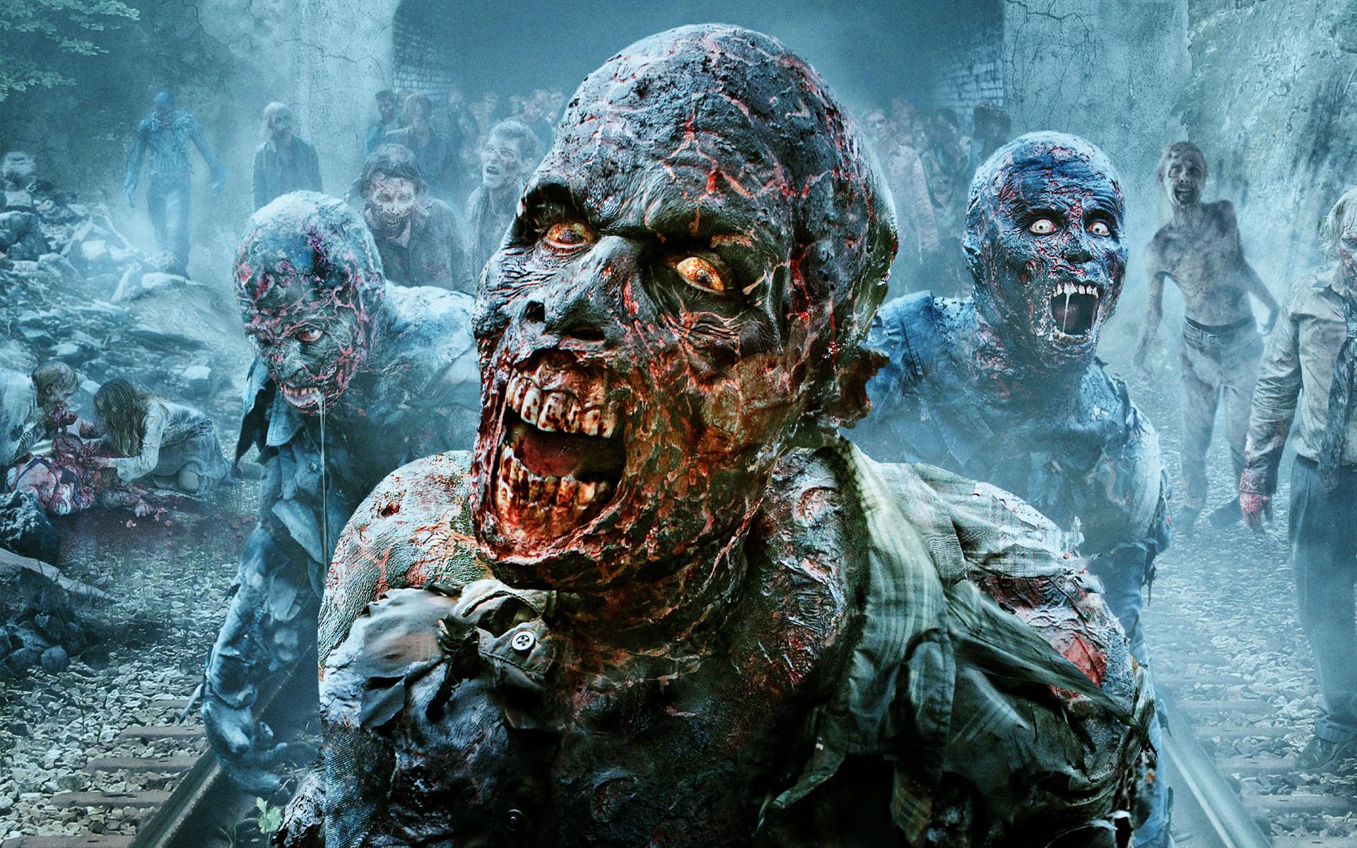 The Walking Dead Scary Walker HD Wallpaper