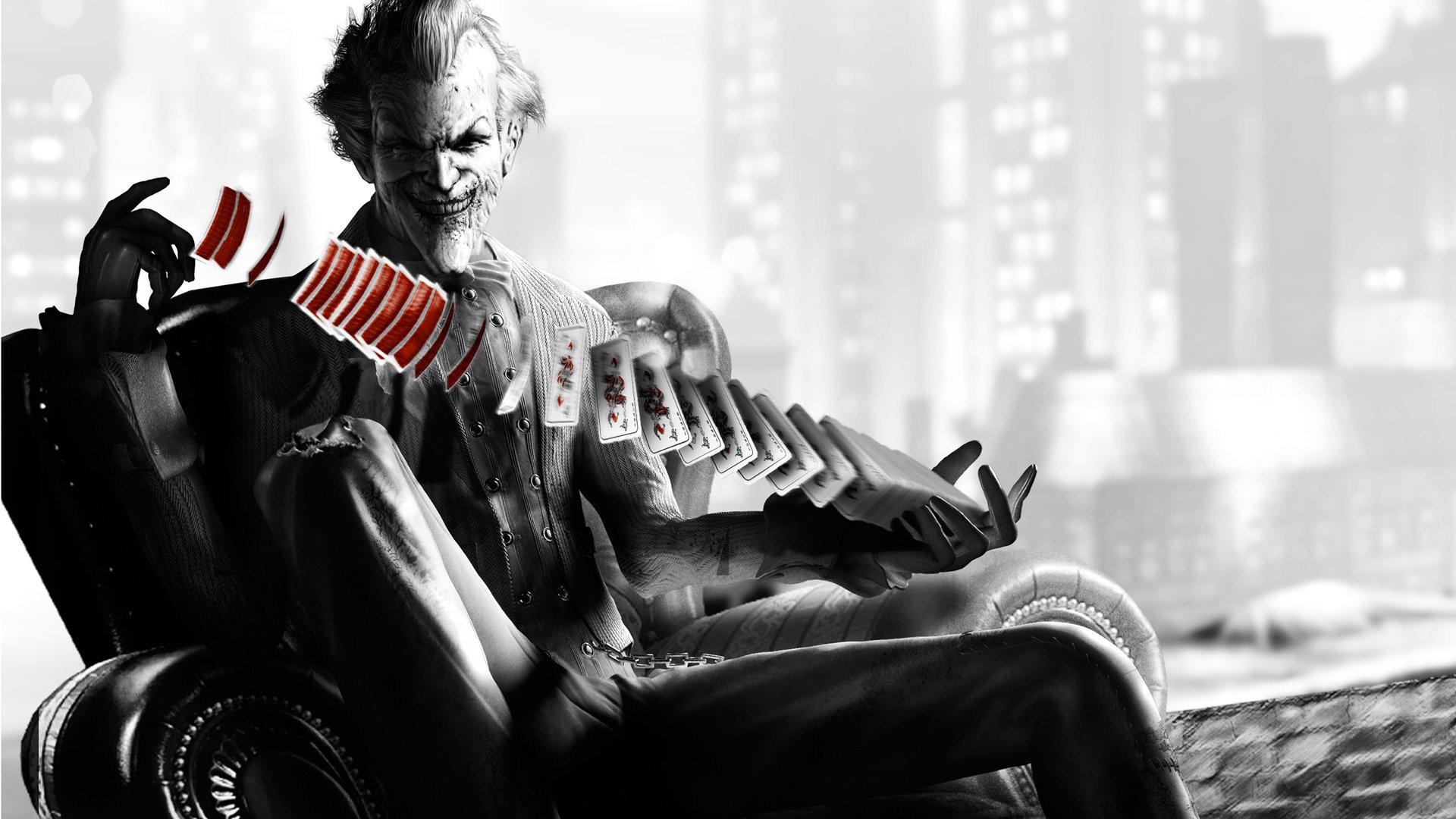 Dc Comics Wallpapers Batman Arkham City Joker Wallpaper 1920×1080 #23054 HD  Wallpaper Res .