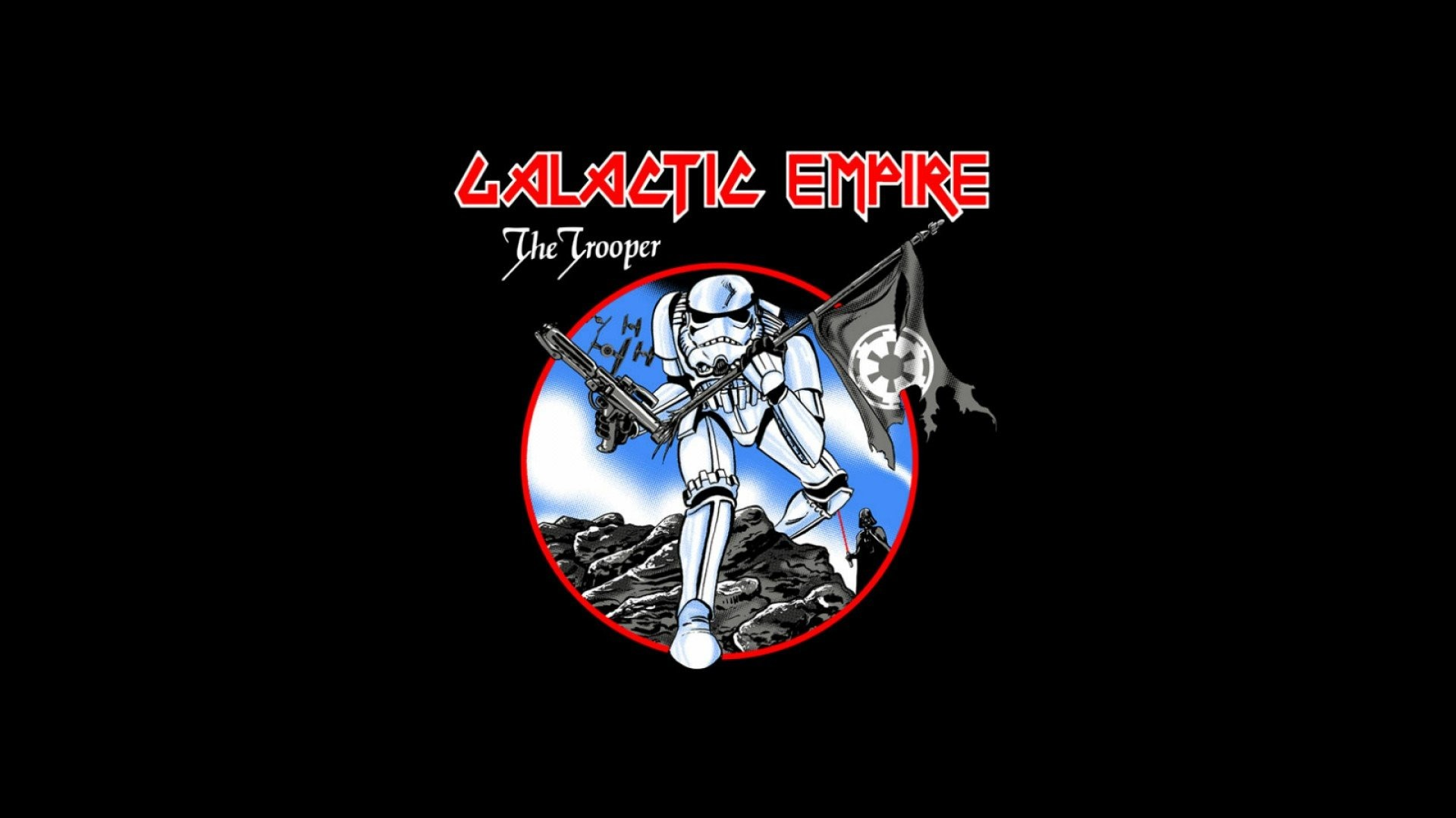 126 Star Wars Empire Logo
