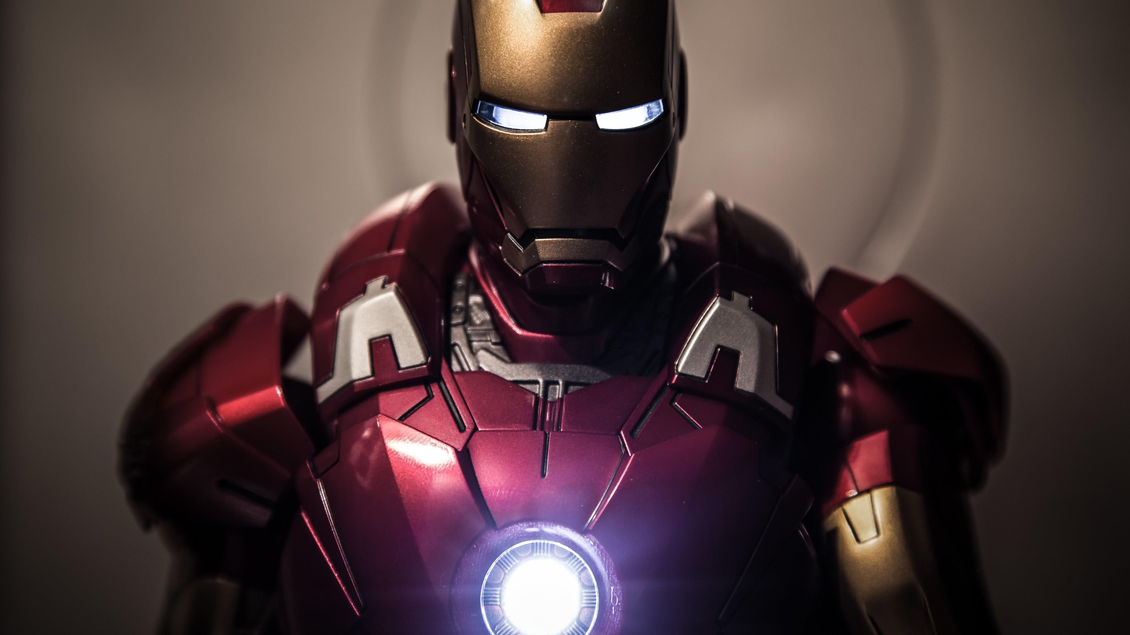 Preview wallpaper iron man, tony stark, superhero 3840×2160