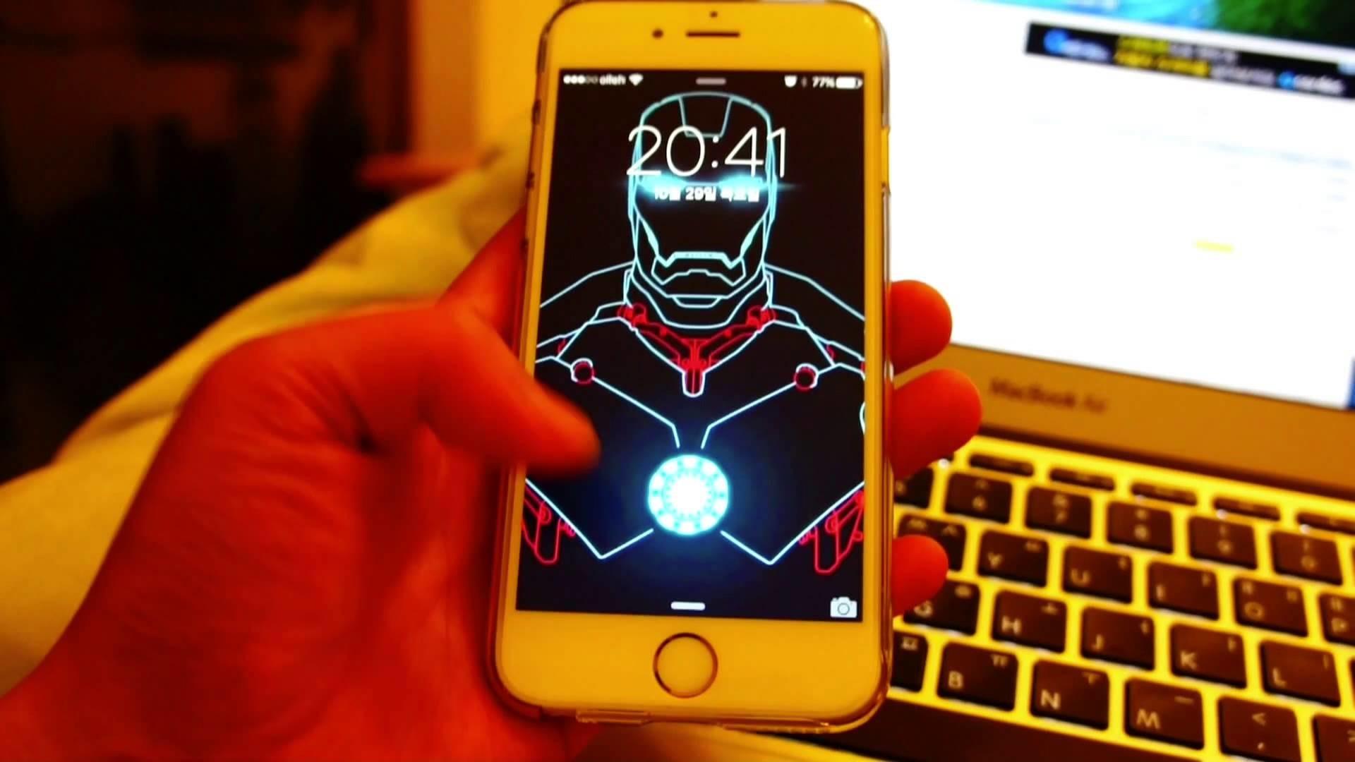 JARVIS MARK 3 – IPHONE 4 LOCKSCREEN WALLPAPER by hyugewb on DeviantArt