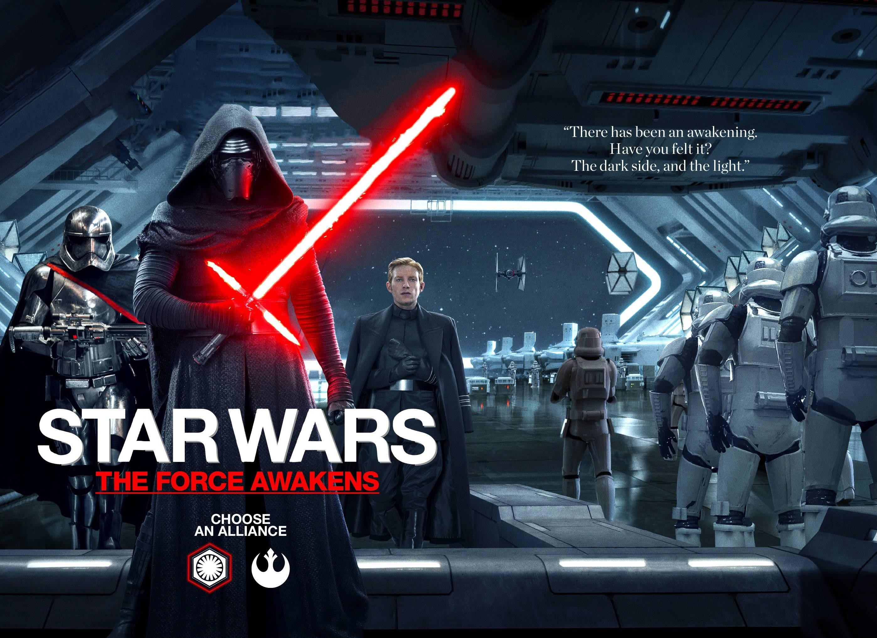 Star Wars: The Force Awakens Empire Magazine First Order Cover (Wallpaper/Poster  Edit)