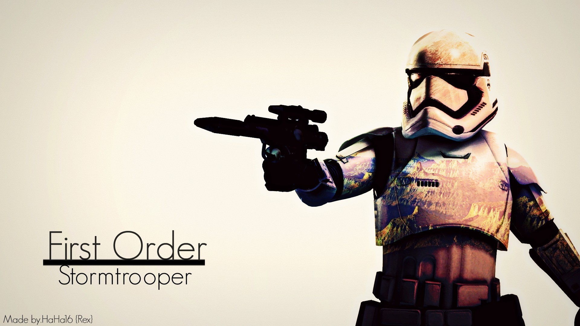 First Order Stormtrooper by HaHa16RexMaker First Order Stormtrooper by  HaHa16RexMaker