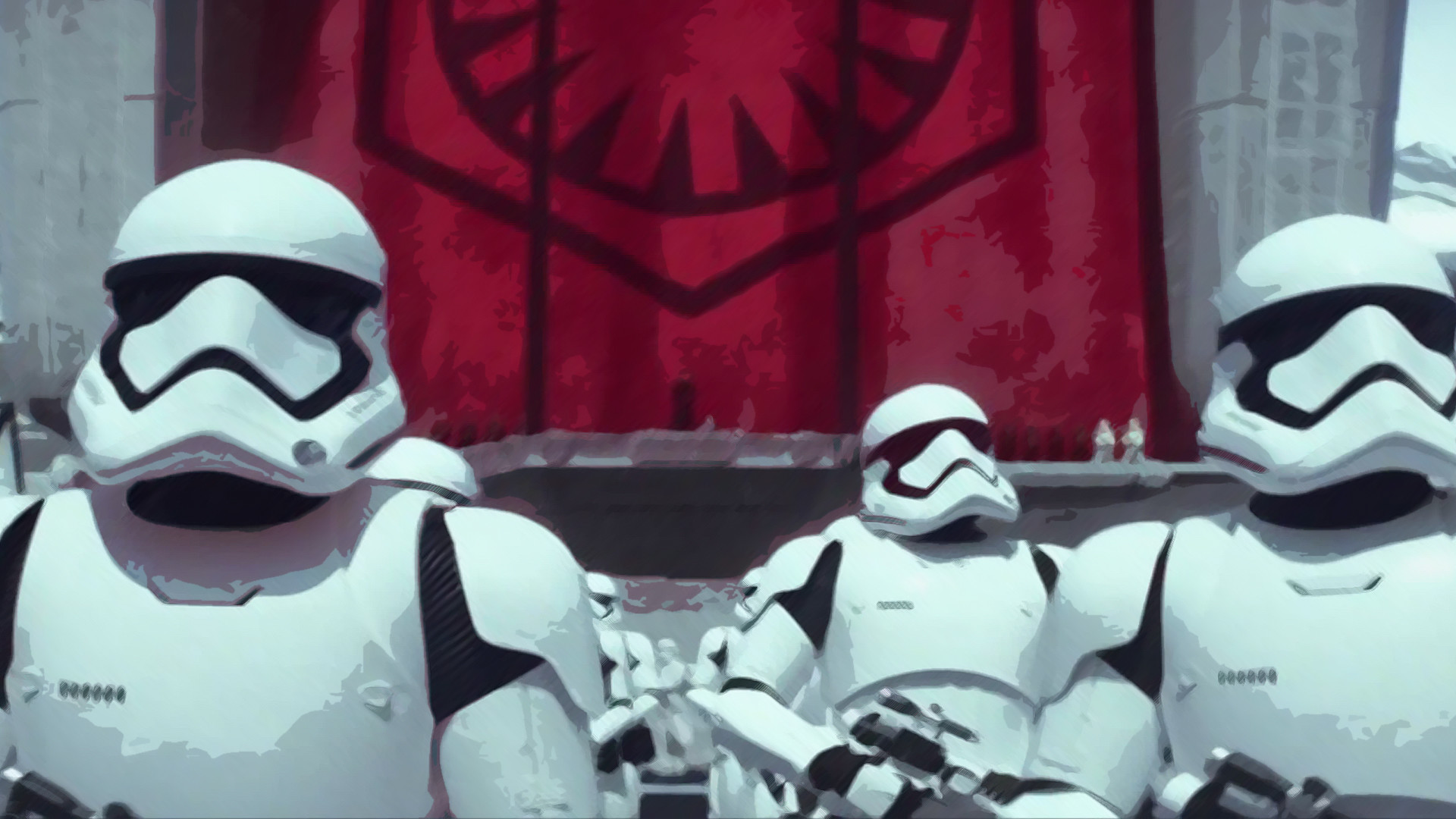 … Star Wars: First Order Stormtrooper by Jonas-Creations