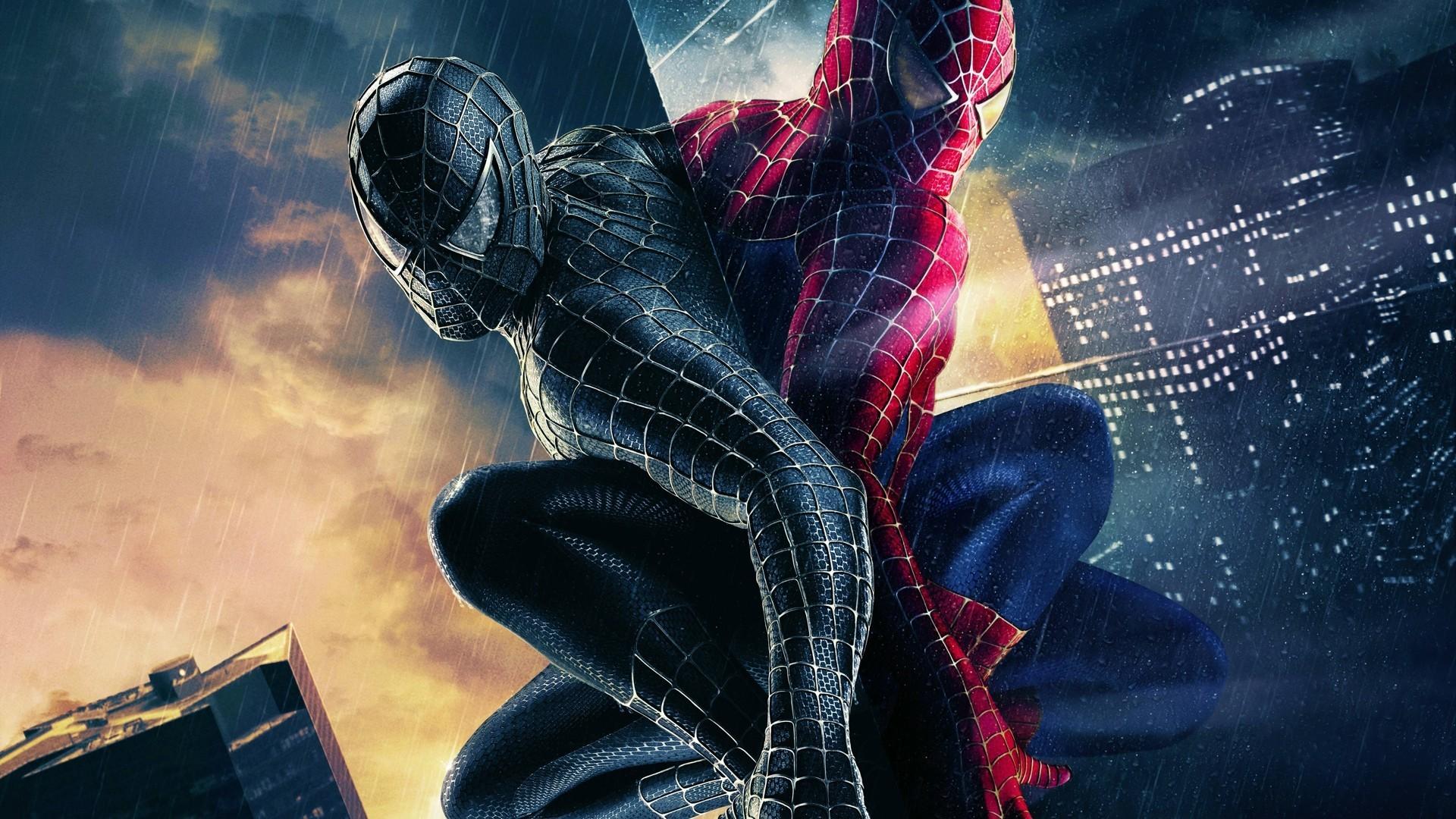 HD Black Spiderman Wallpaper 1080p Full Size – HiReWallpapers 10556