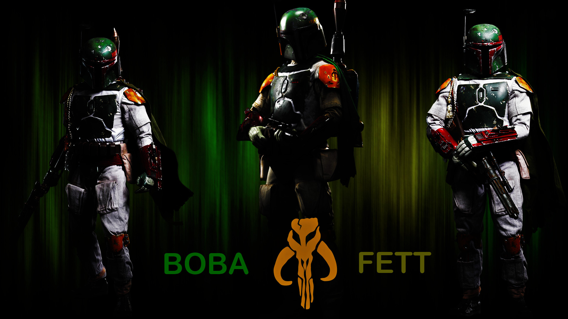 … Star Wars-Boba Fett Wallpaper by TheRenegade01
