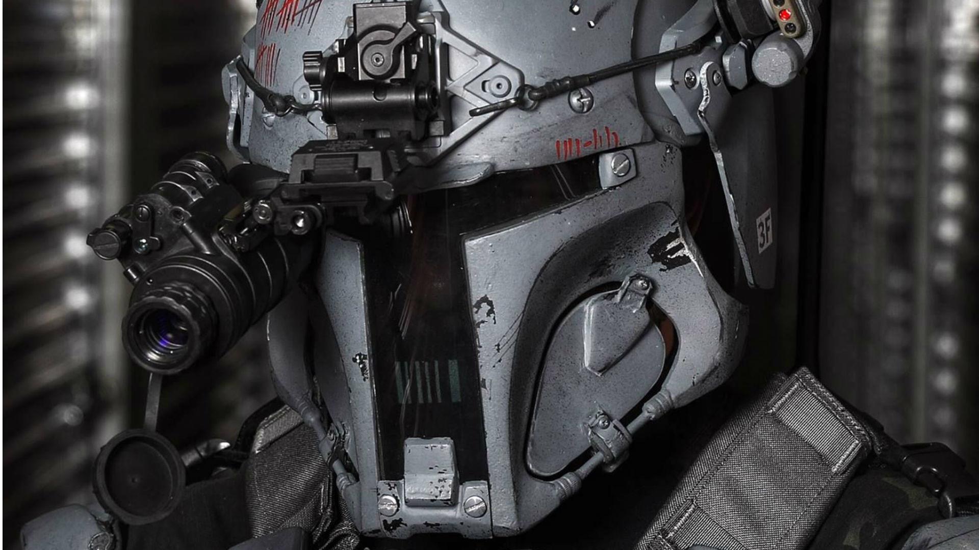 Ballistic Armor Maker Makes Real Bulletproof Boba Fett Armor