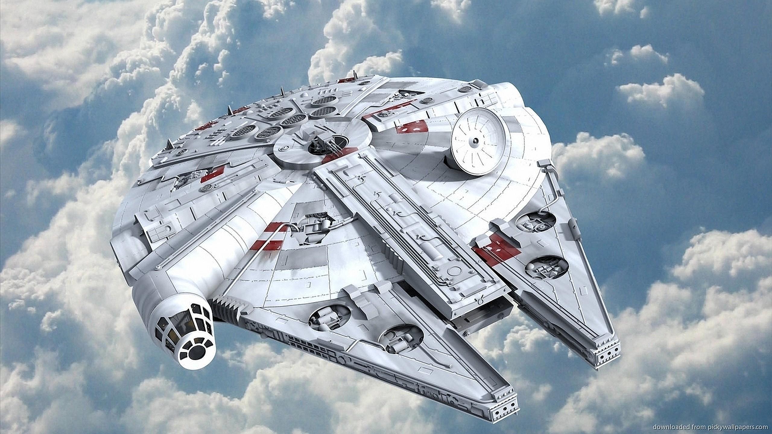 Millennium Falcon TIE Fighter · HD Wallpaper | Background ID:329155