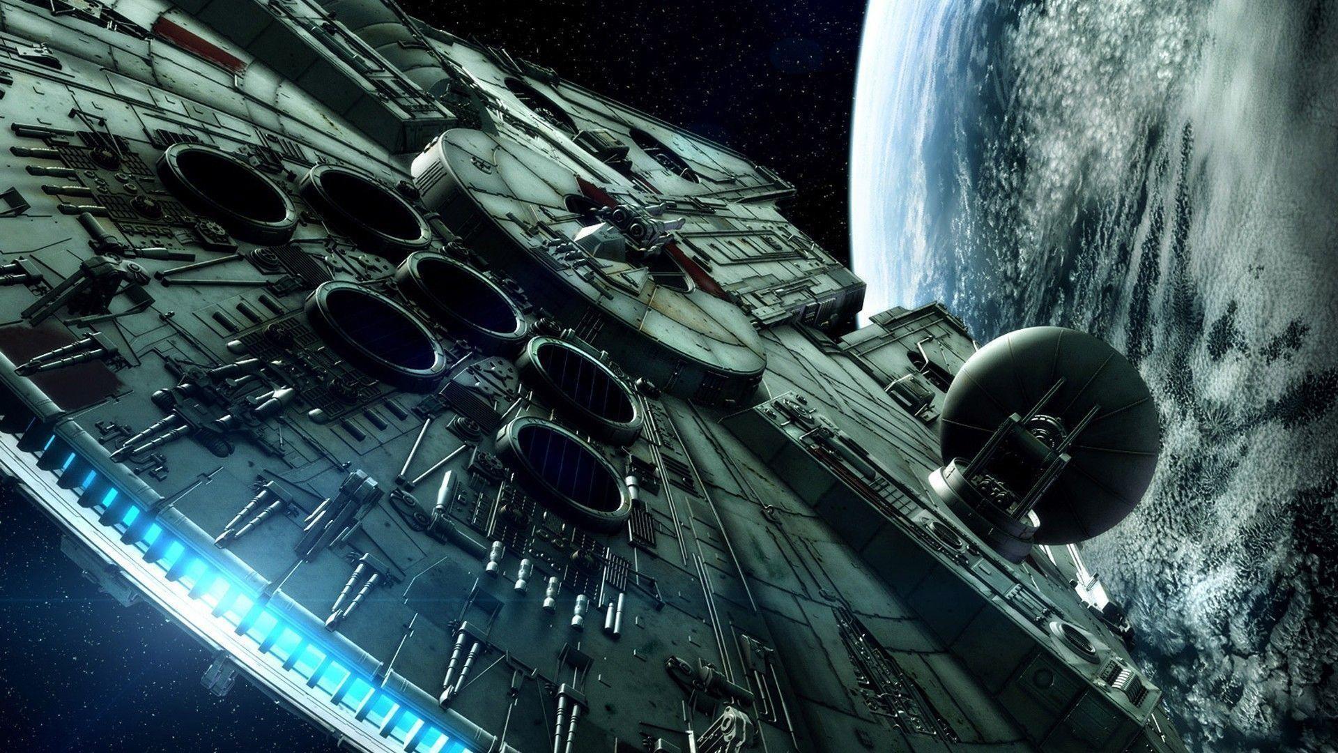 The Millenium Falcon – Star Wars wallpaper – Free Wide HD Wallpaper