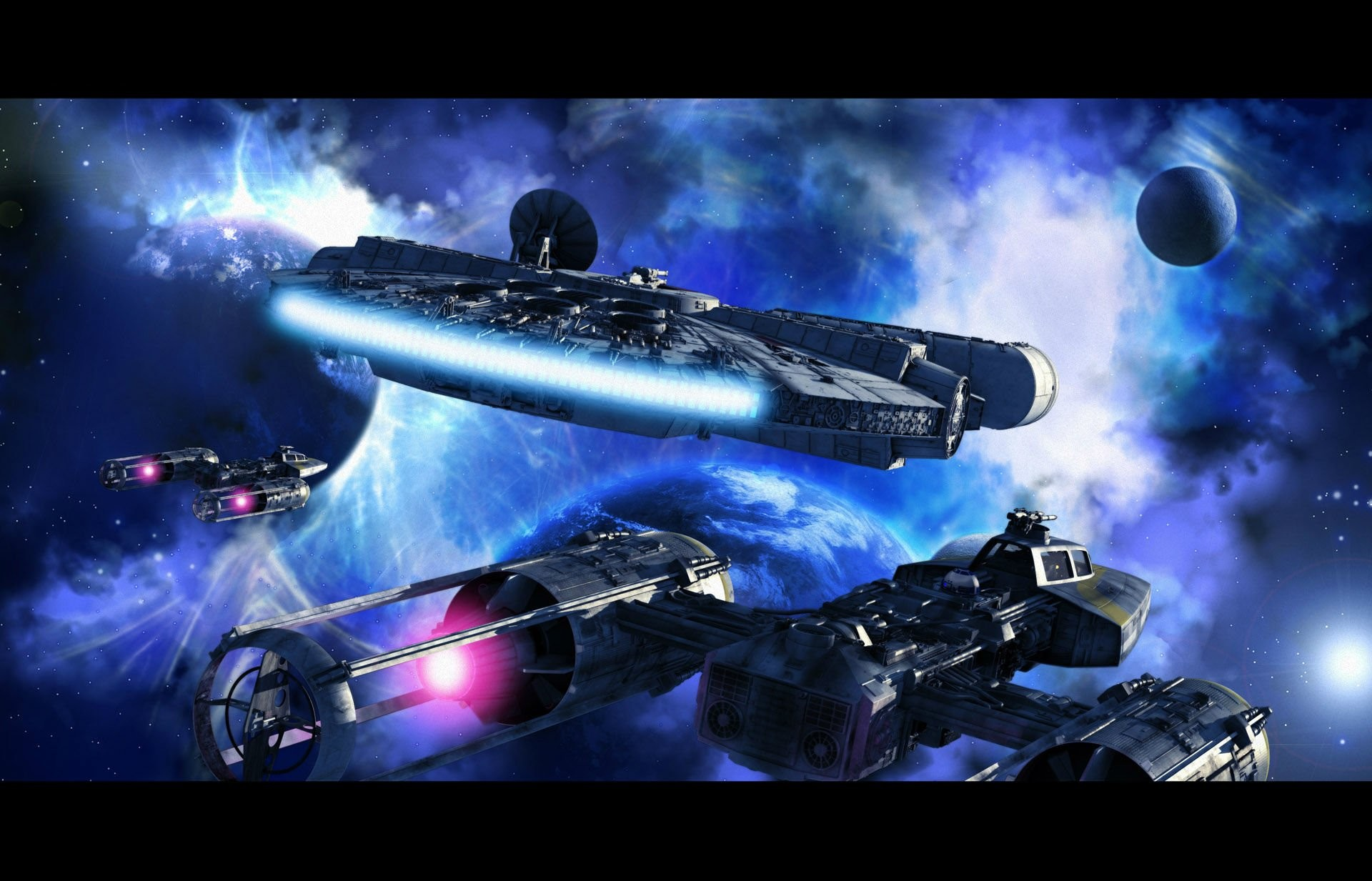 Millennium Falcon Star Wars · HD Wallpaper | Background ID:238541