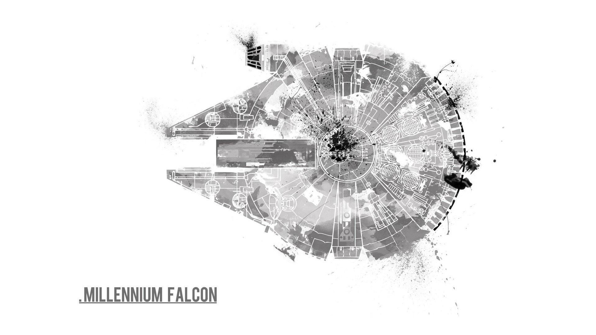 Millennium Falcon · HD Wallpaper | Background ID:497643