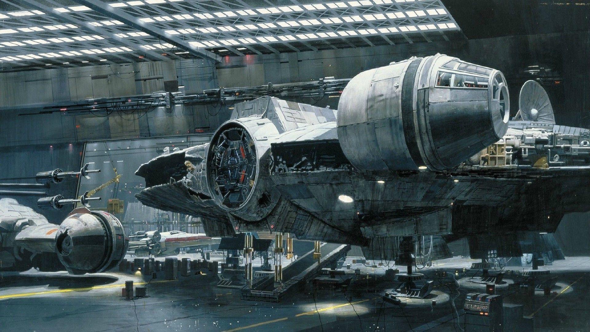 Star Wars, Millennium Falcon, Spaceship Wallpapers HD / Desktop .