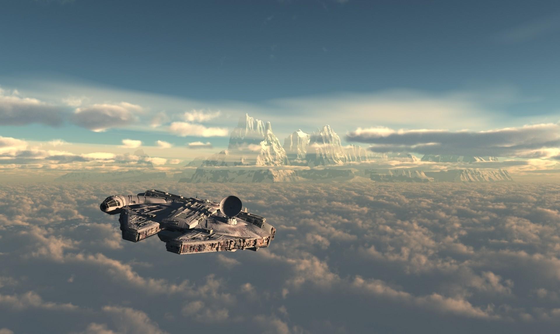 124 Millennium Falcon Hd