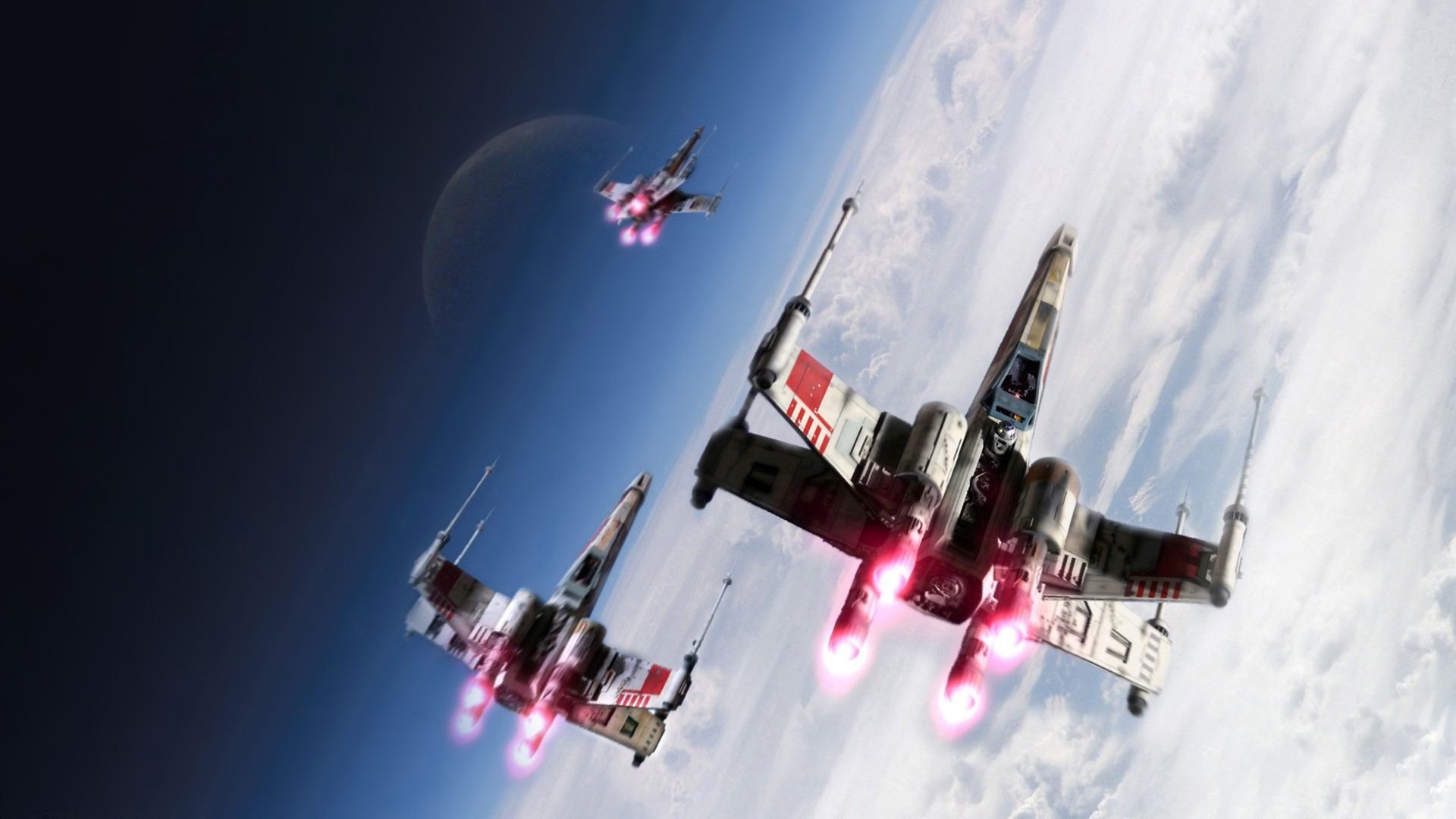 Star Wars Force Awakens XWing Wallpaper by HD Wallpapers Daily 1920×1080 X  Wing Wallpaper
