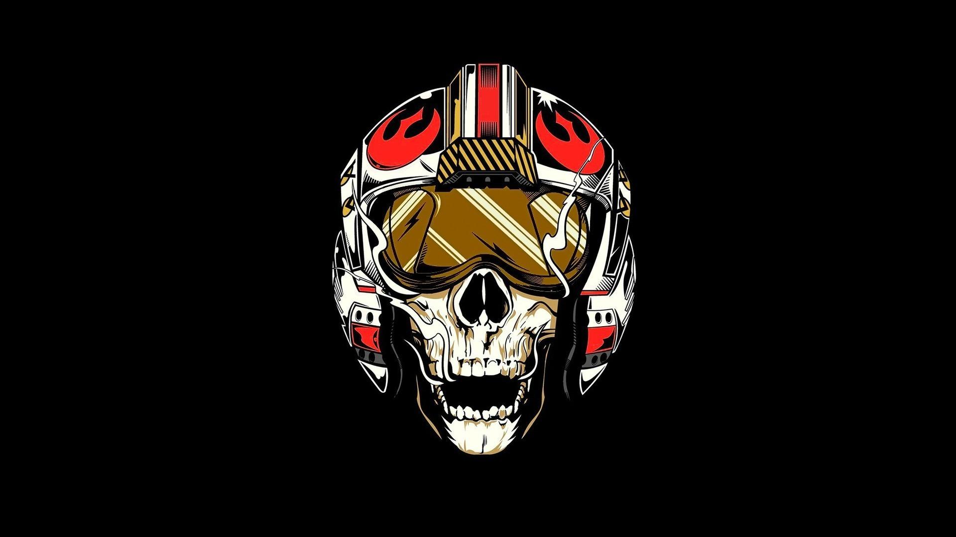 Star Wars, Rebel Alliance, Pilot, Skull Wallpapers HD / Desktop .