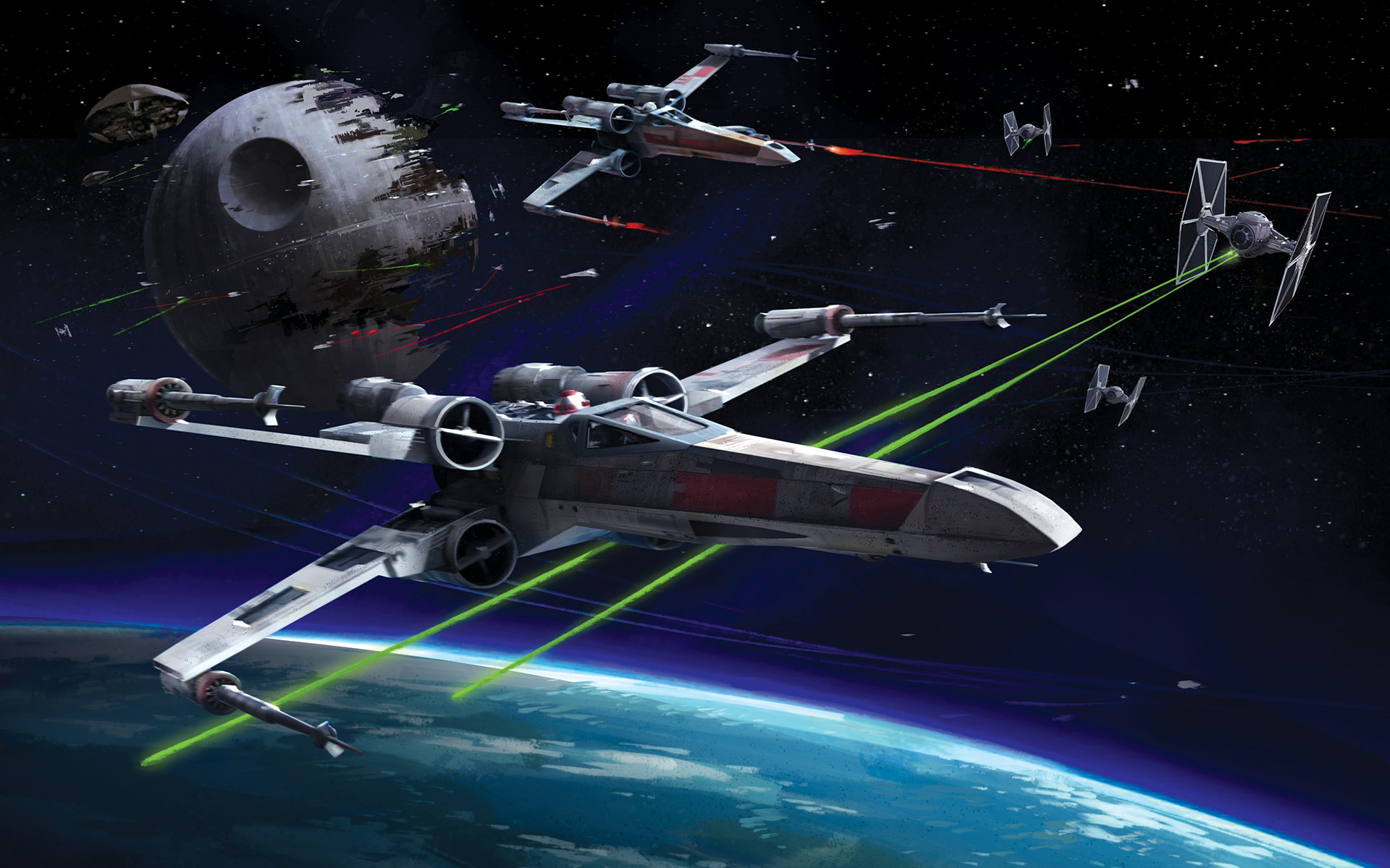 106 X Wing Wallpaper Hd