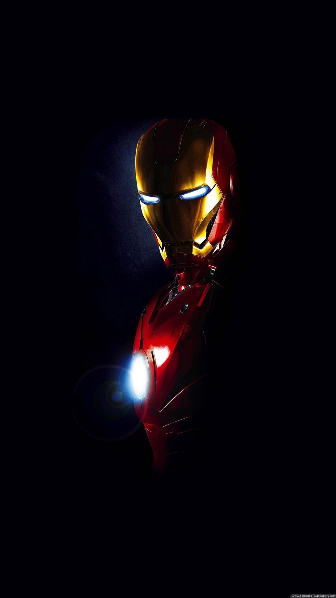 Iron Man Arc Reactor Glow iPhone 6 Plus HD Wallpaper …