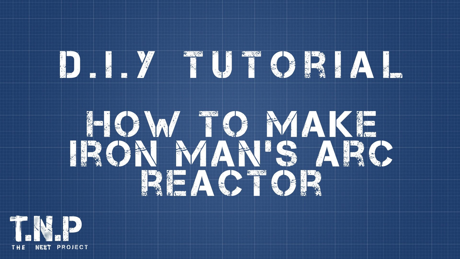 DIY – Iron Man's Arc Reactor- SpeedBuild