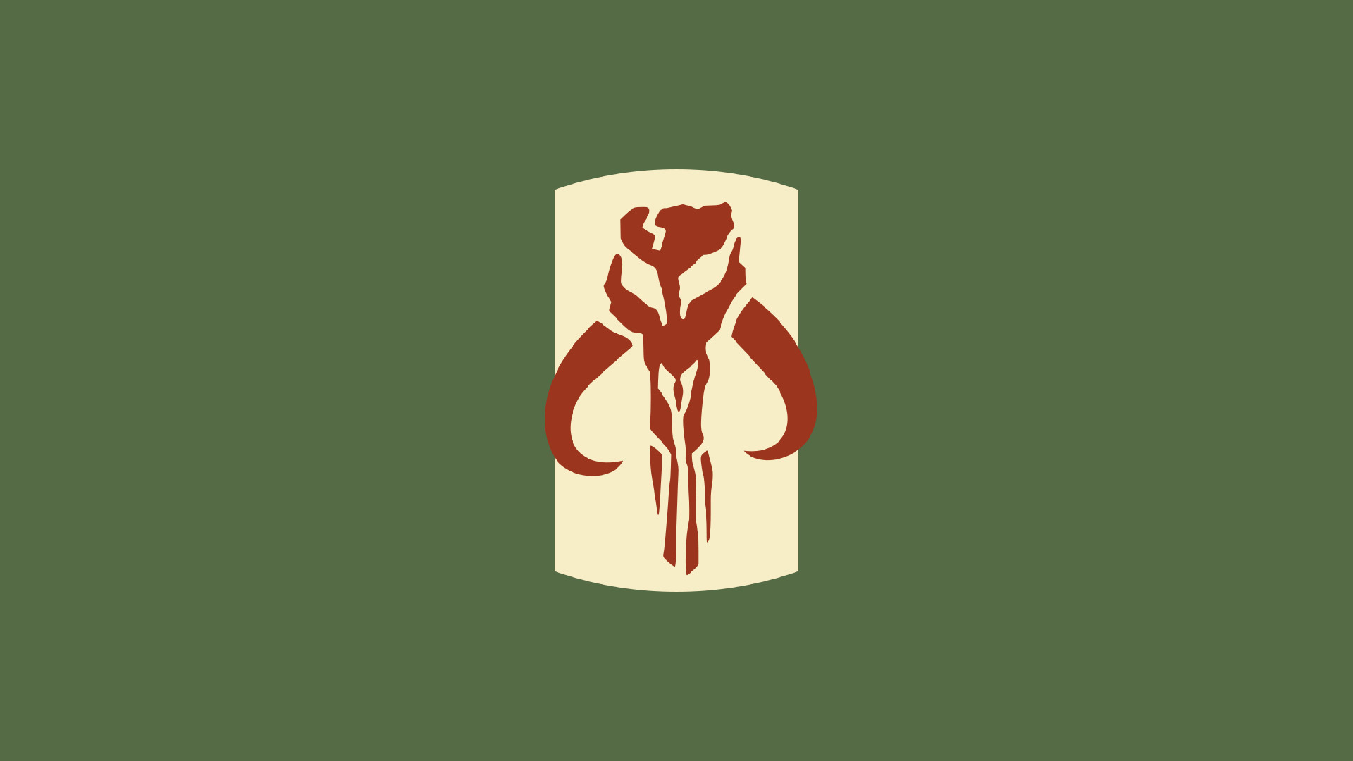 The one in the center is the Mandalorian …