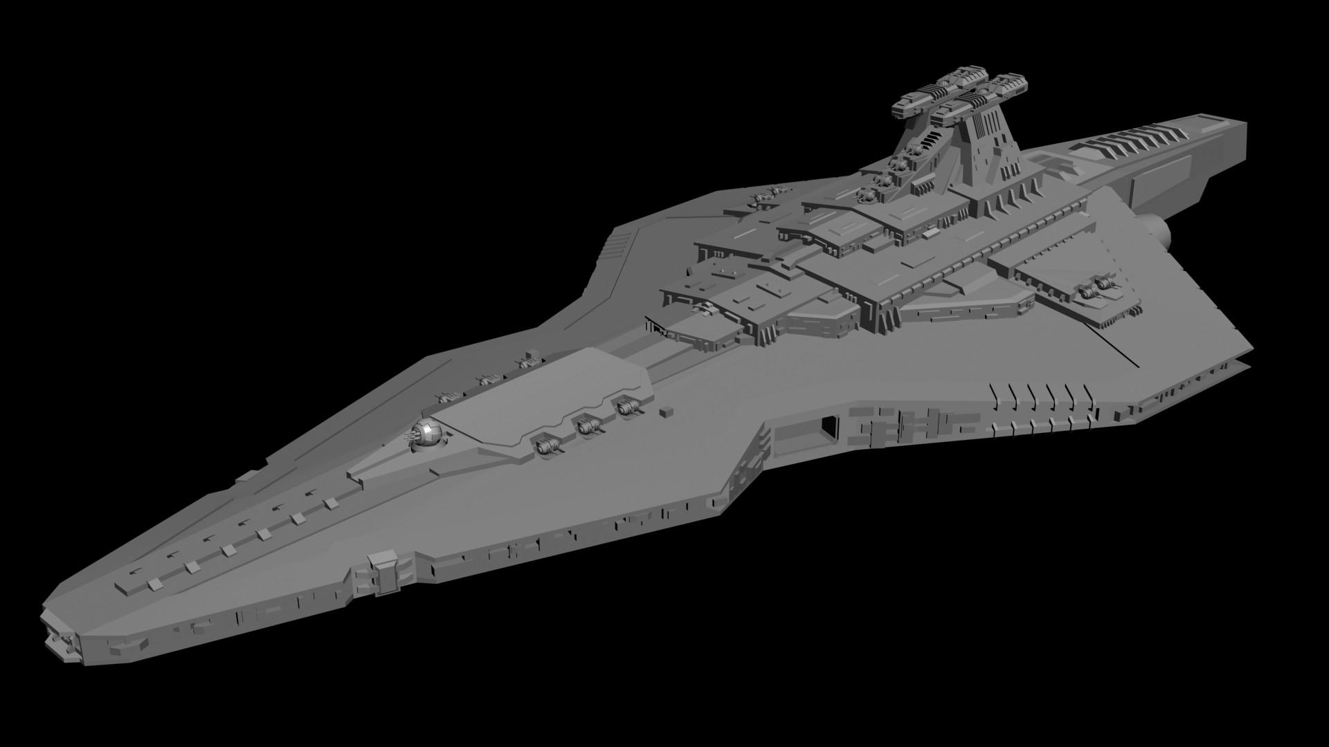 Mandalorian Warship