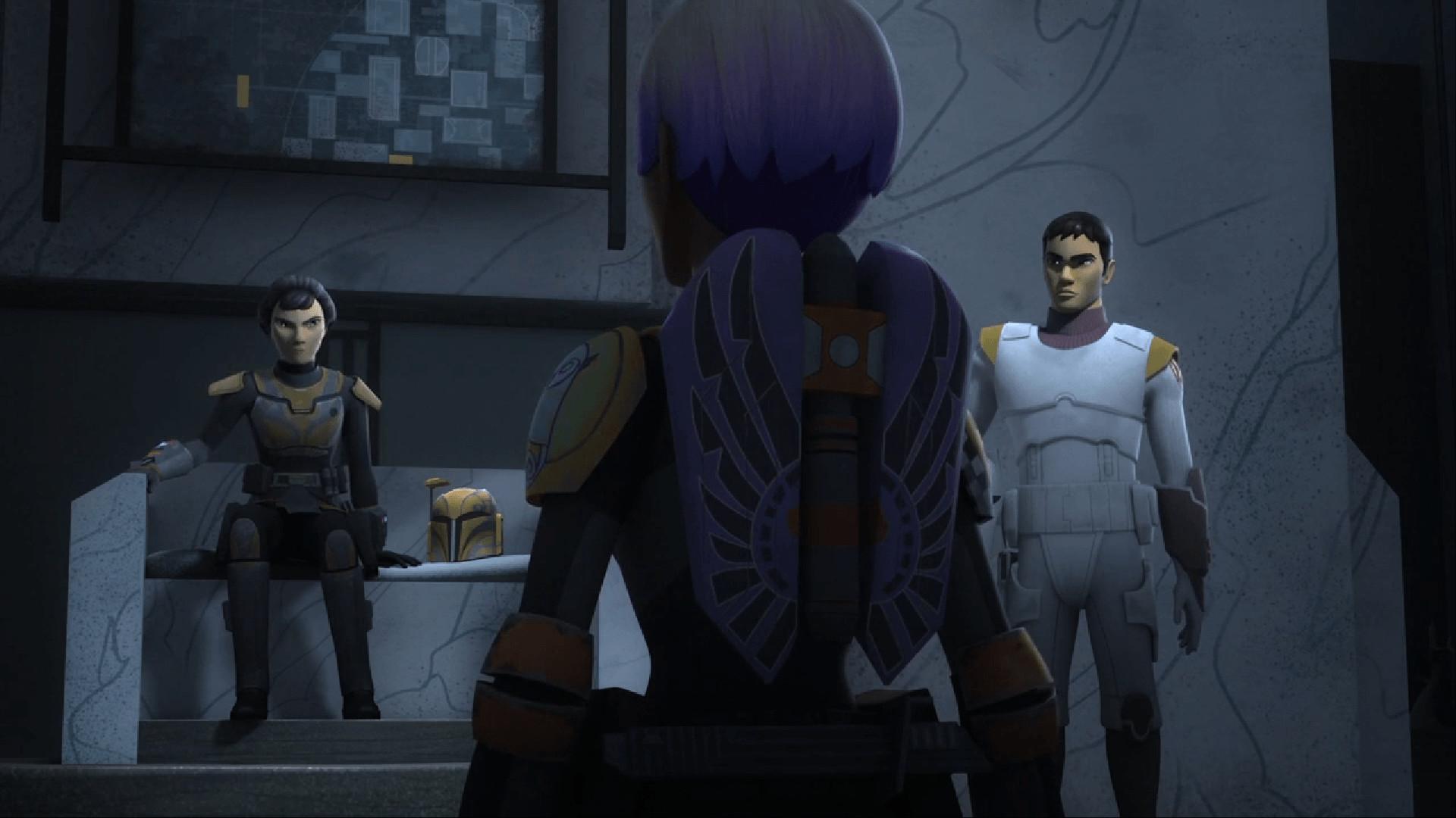 Star Wars Rebels Legacy of Mandalore