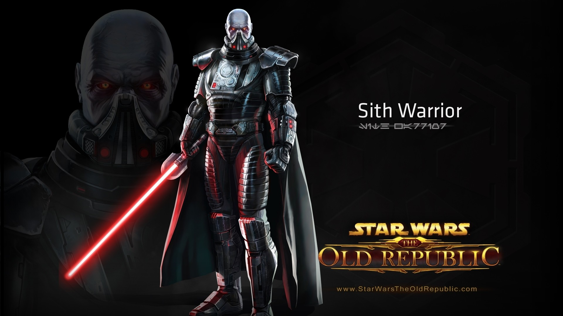 Preview wallpaper star wars the old republic, sith warrior, character,  lightsaber 1920×1080