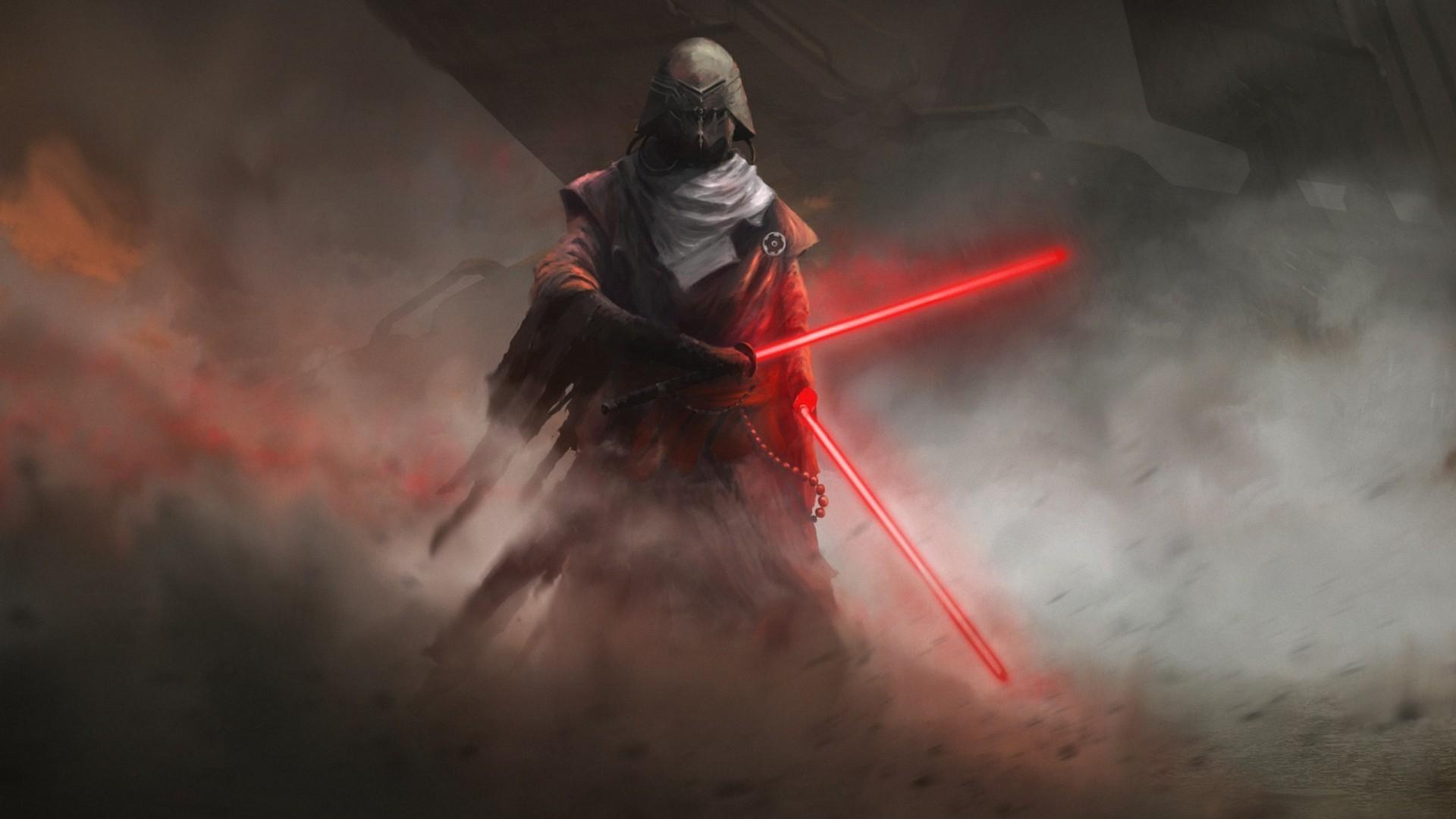 fantasy star wars lightsaber sith 1080P full HD wallpapers