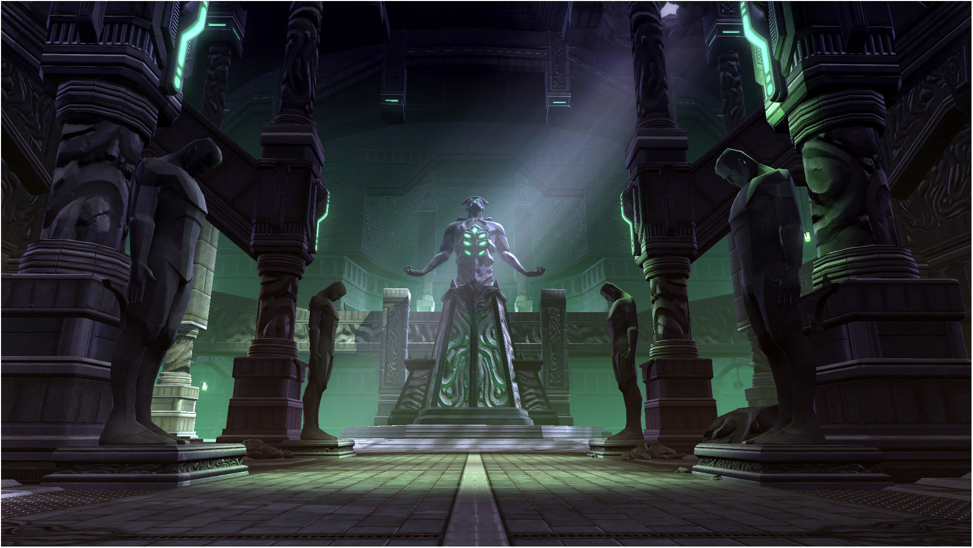 Location: a sith temple in Kaas City .