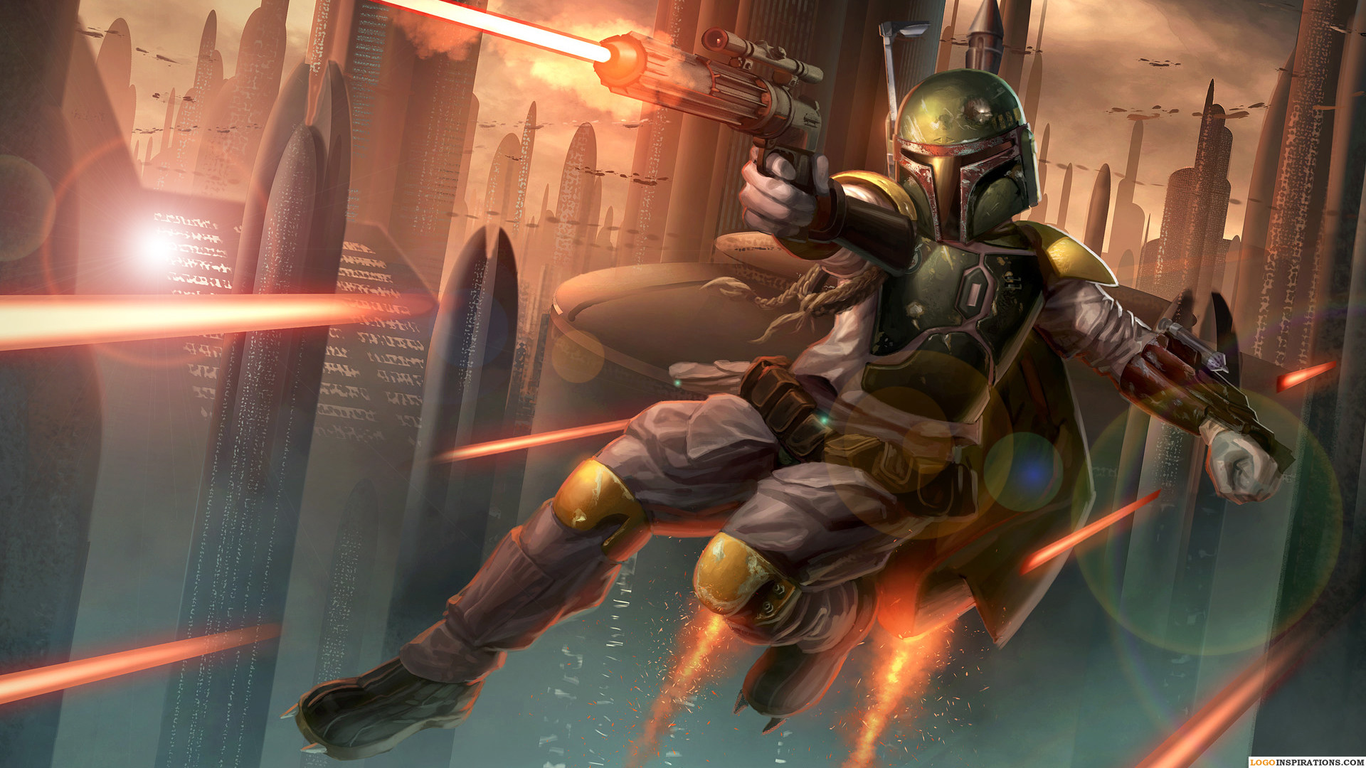 Awesome Boba Fett HD Wallpapers