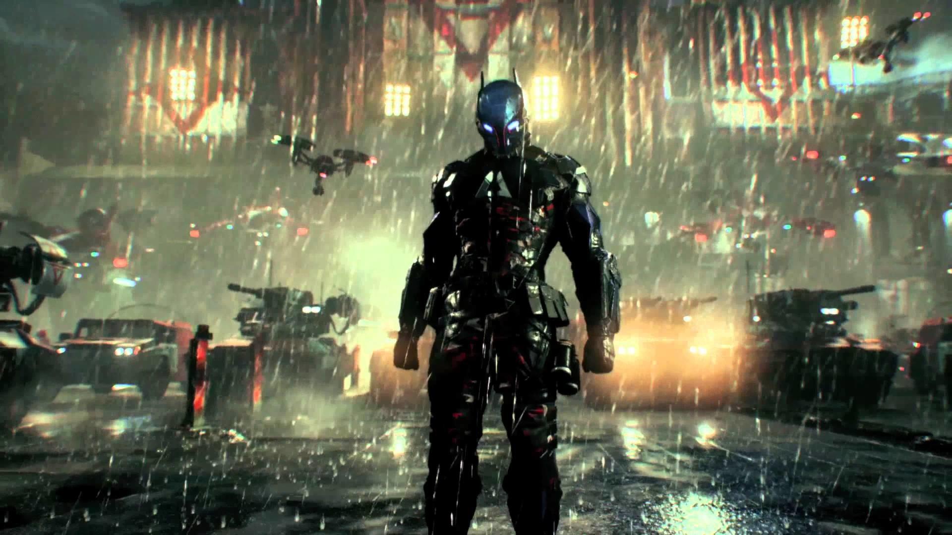"Batman Arkham Knight in true UltraHD 4K _ Gameplay Trailer ""All Who Follow  You"" for PS4 XboxOne PC"