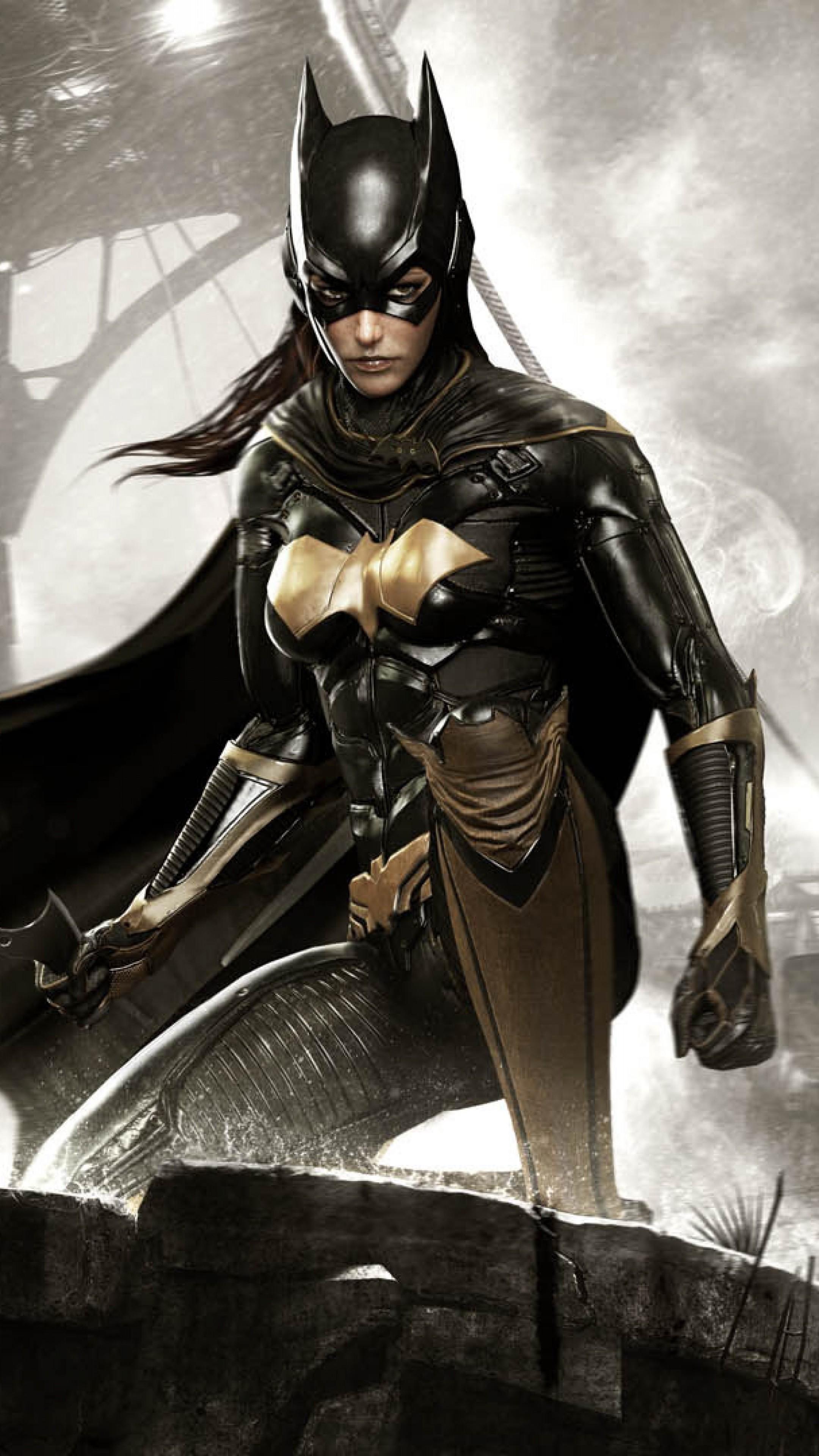 Wallpaper batman, arkham knight, batgirl