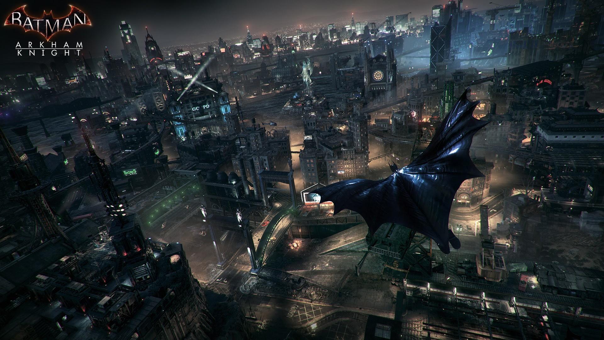 … Batman Gliding Wallpaper 2 …