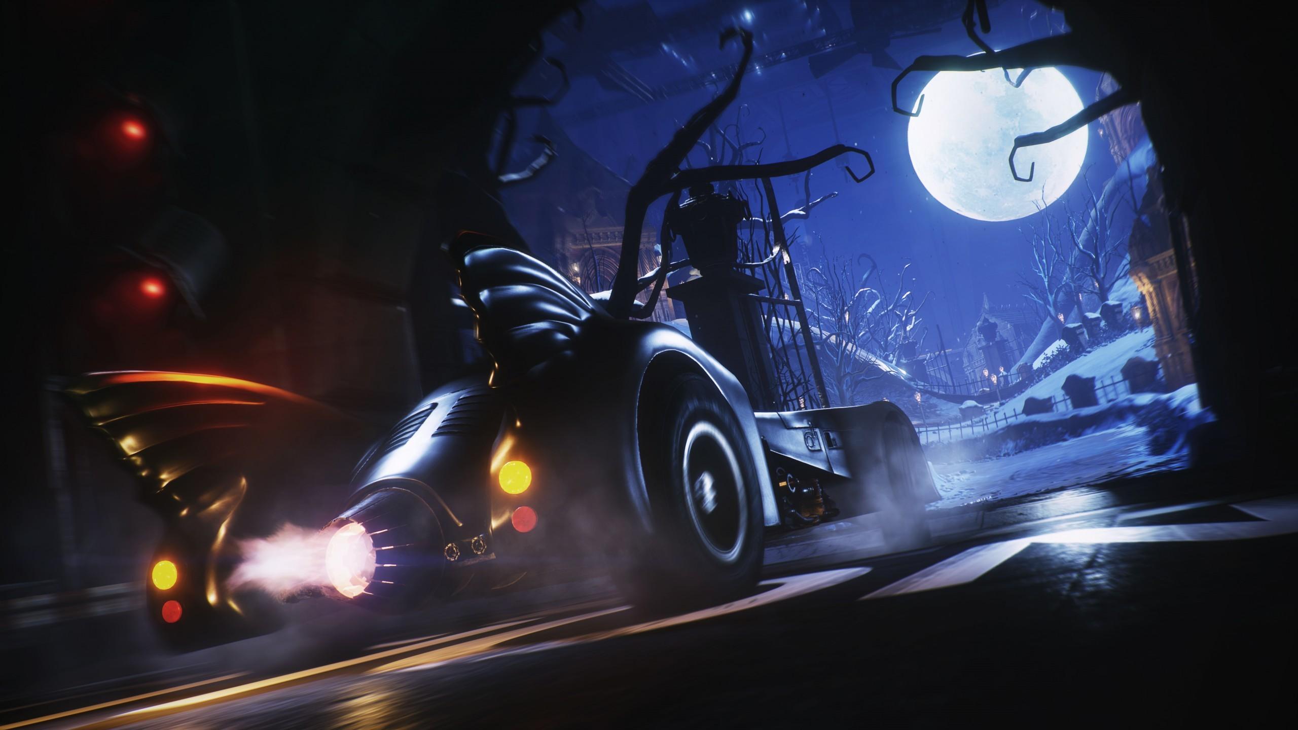 Games / Batman Wallpaper. Batman, Arkham Knight, Batmobile Pack, 4K