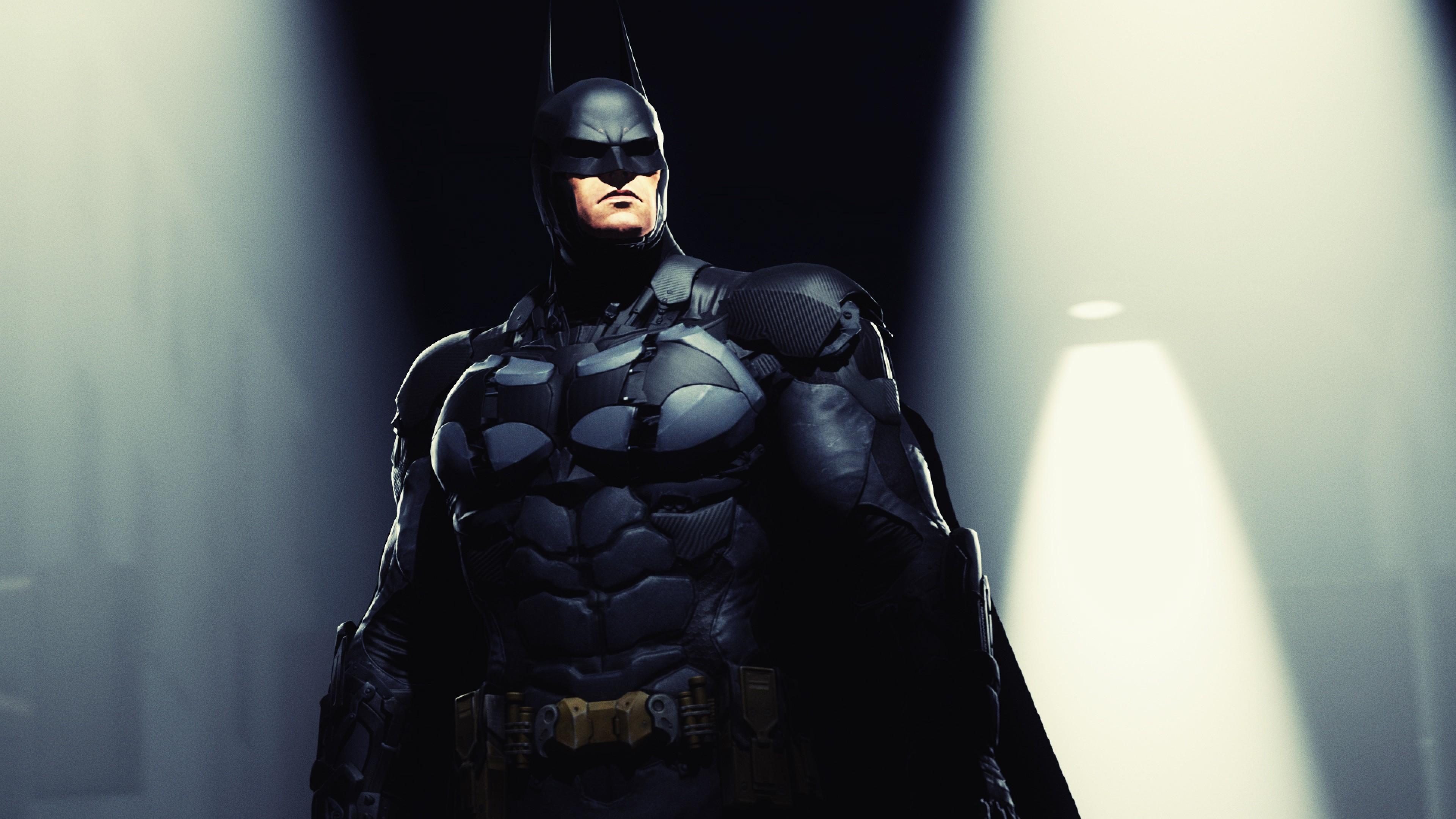 Preview wallpaper batman, arkham knight, rocksteady studios, bruce wayne,  dc comics 3840×2160