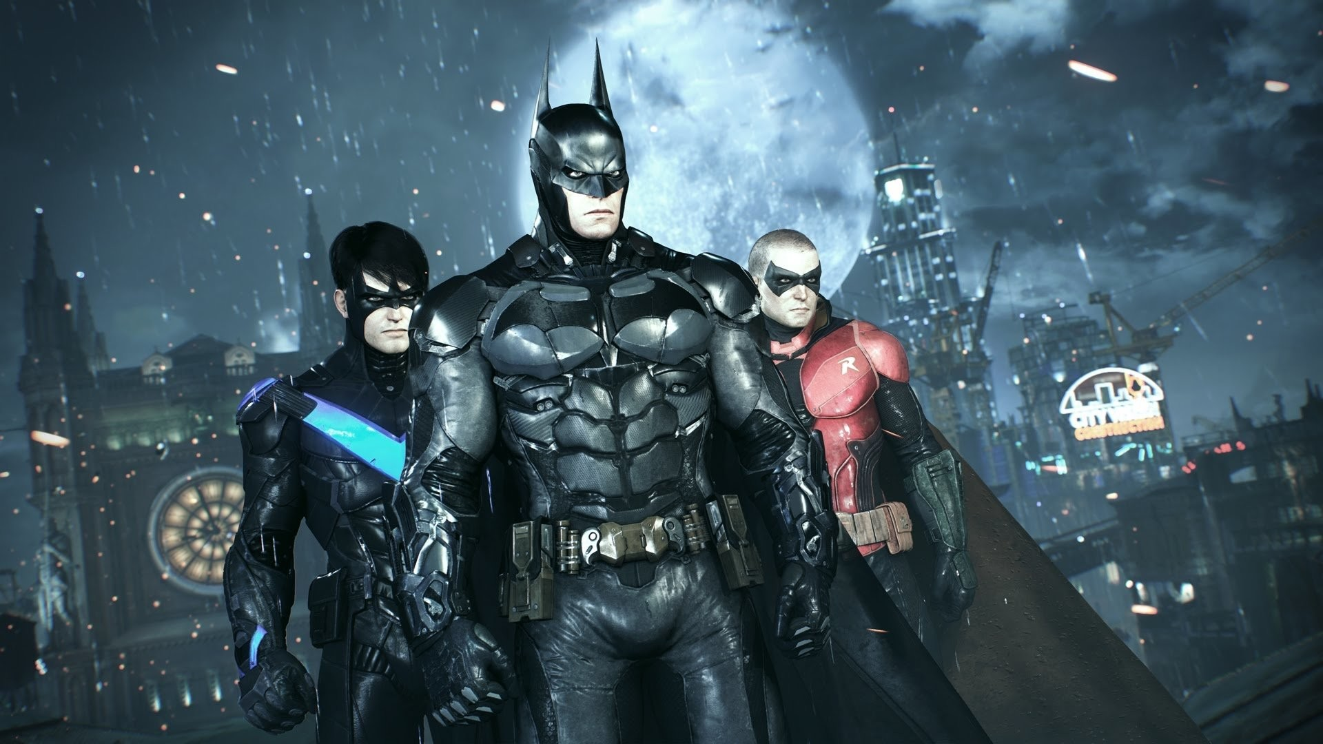 HD Wallpaper   Background ID:803143. Video Game Batman: Arkham  Knight