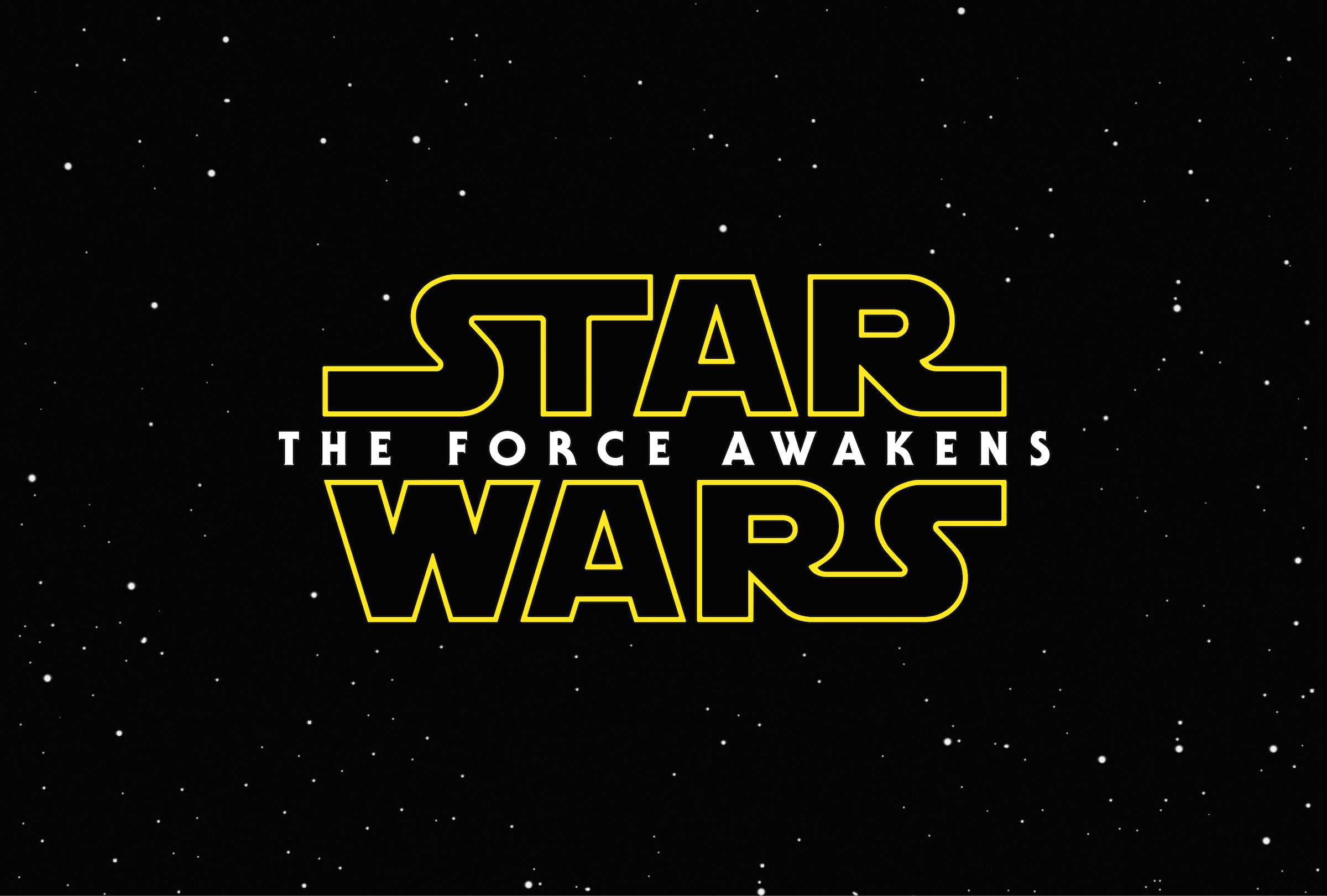 Force Awakens logo wallpaper small
