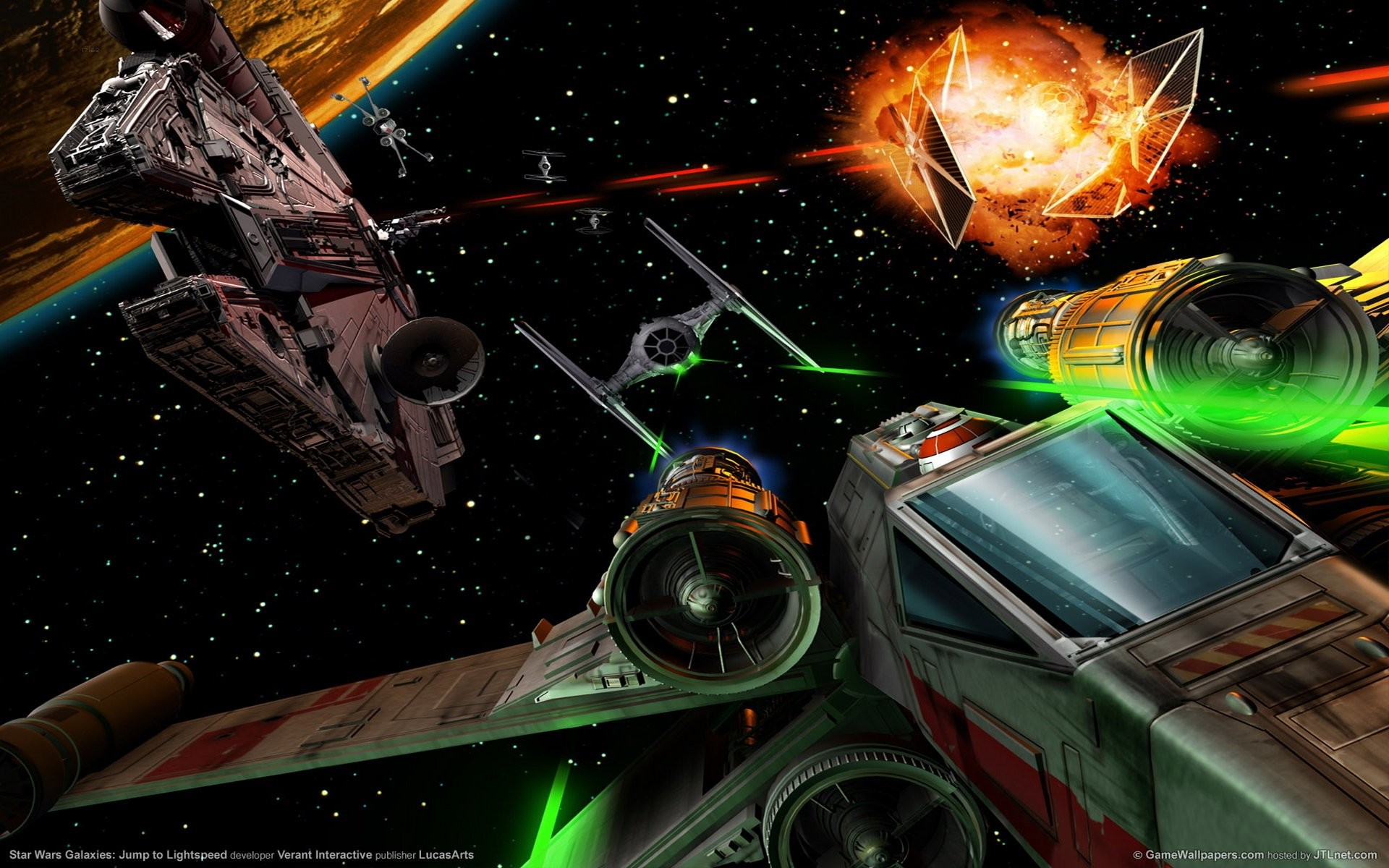 Star Wars – Trade Federation Droid Control Ship – Wall Mural .