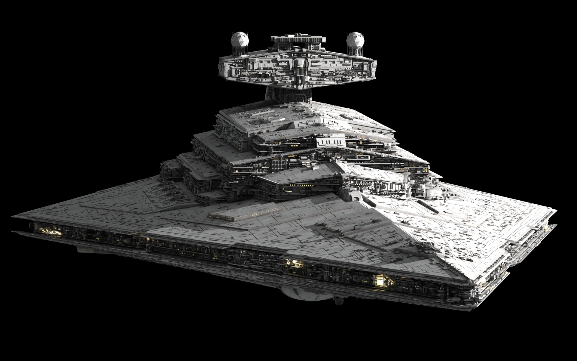 Imperial Star Destroyer built by Ansel Hsiao (Fractalsponge .