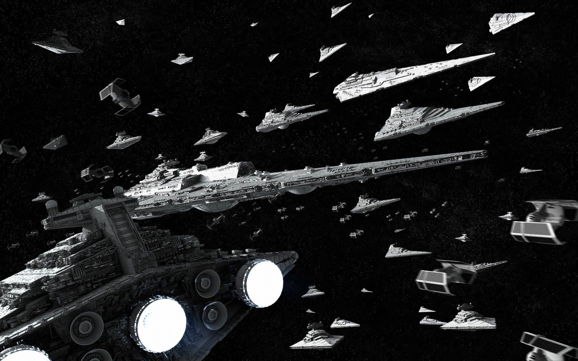 Star Wars, Star Destroyer, Super Star Destroyer, TIE Fighter .