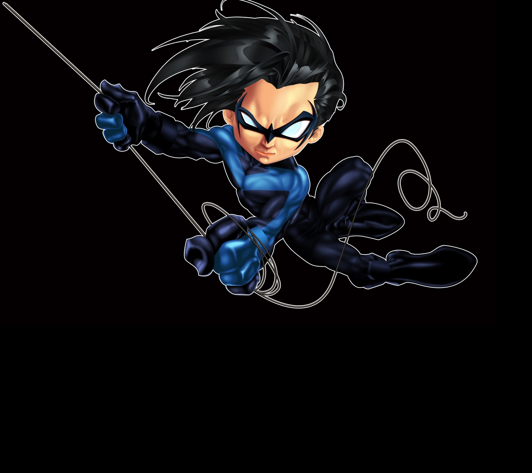 Downloadable Phone Wallpapers IPhone Tablet HD Nightwing Logo
