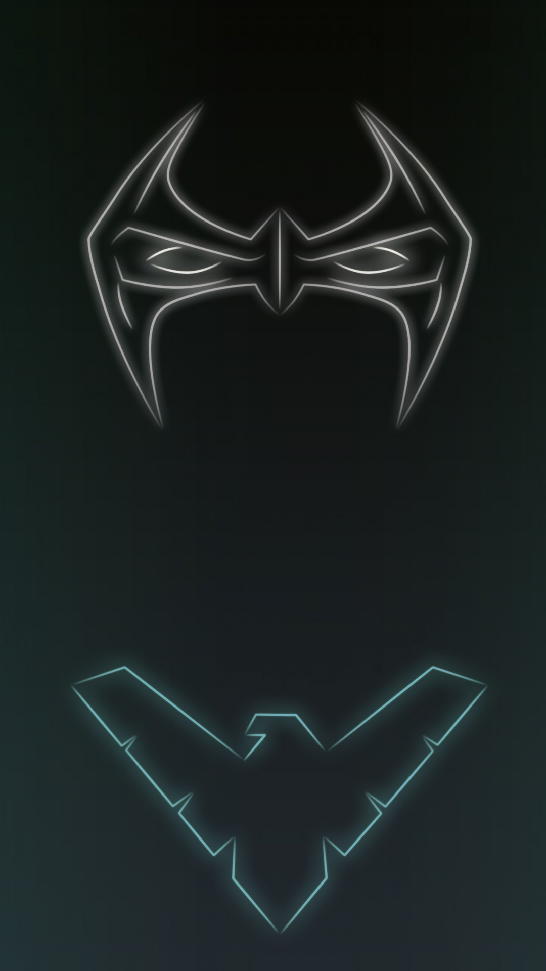 Neon Light Nightwing