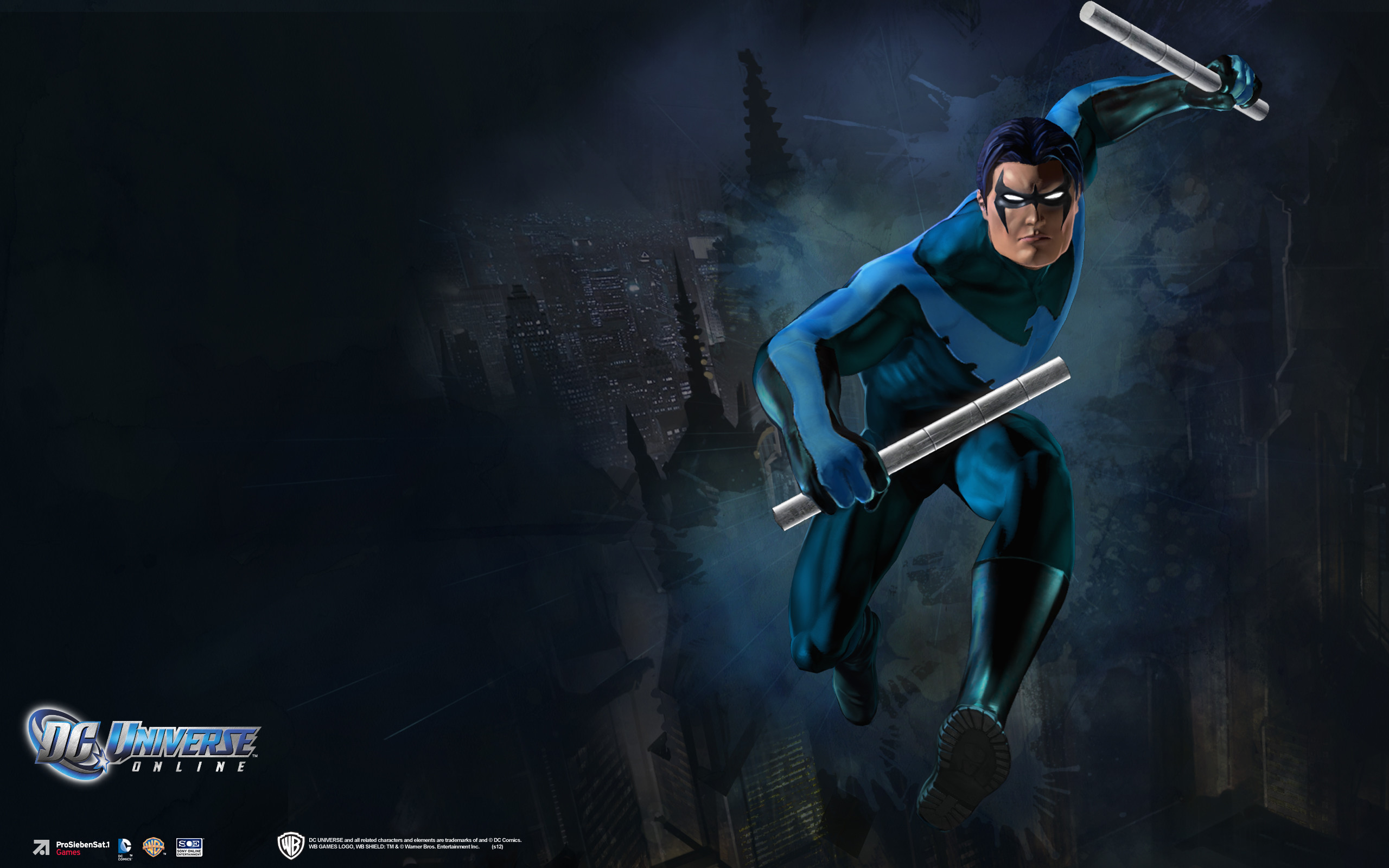 Blue Nightwing Wallpapers Full Hd