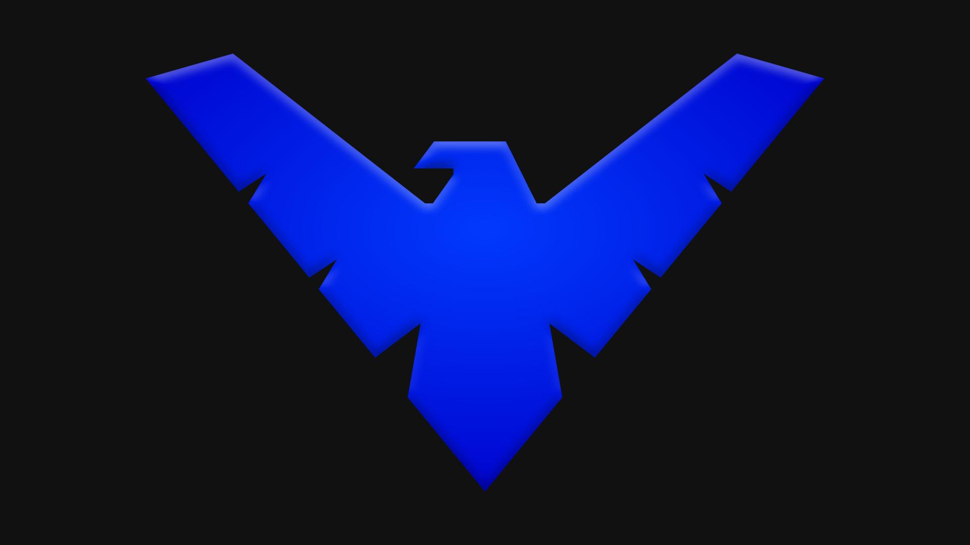 Nightwing Logo Wallpaper – WallpaperSafari
